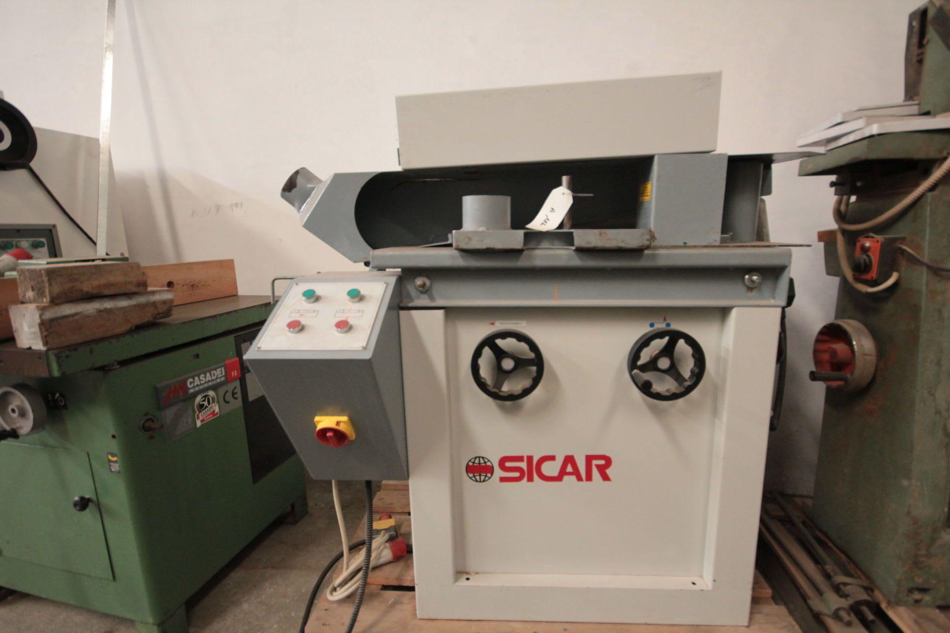 SICAR SL 120 Bandschleifmaschine