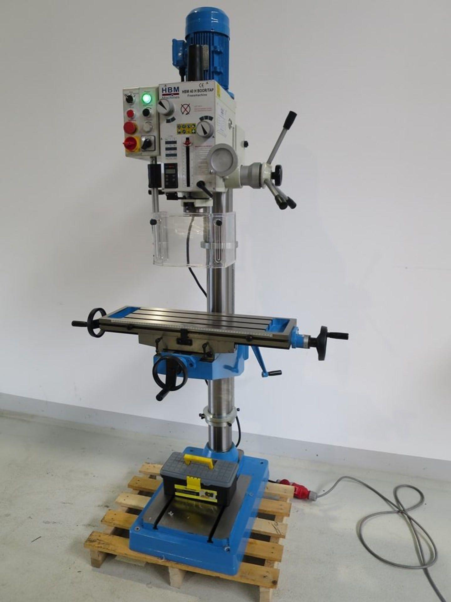 HBM H 40 Bohr- Fräsmaschine
