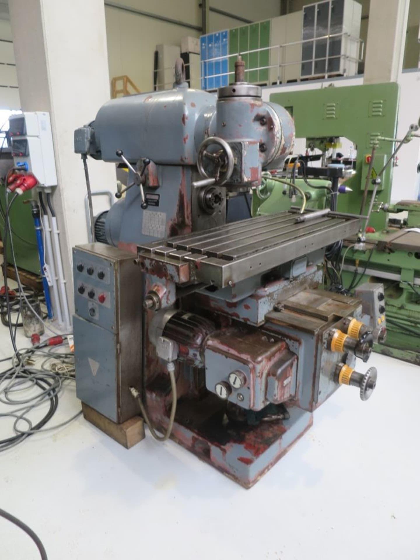 RECKERMANN UNI 900 Fräsmaschine - Universal