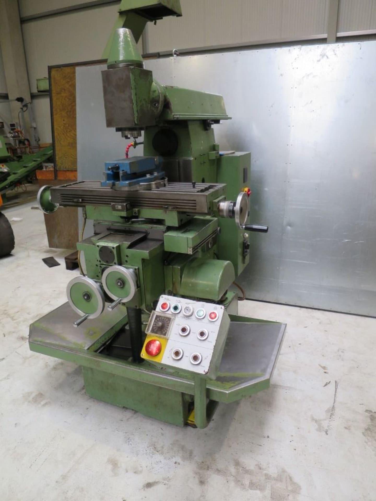 KUNZMANN UF 6 / 2Q Werkzeugfräsmaschine - Universal