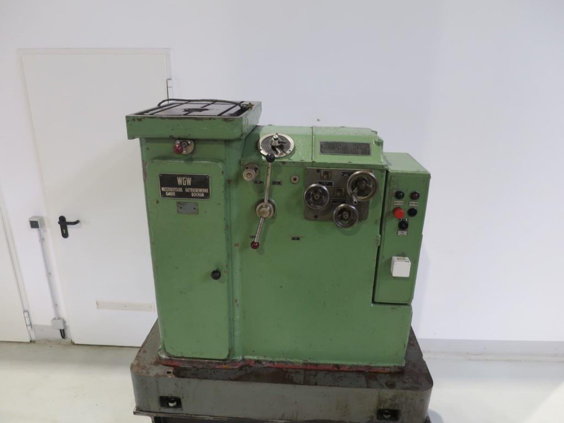 WGW NZH 70 / 650 Keilnutenziehmaschine