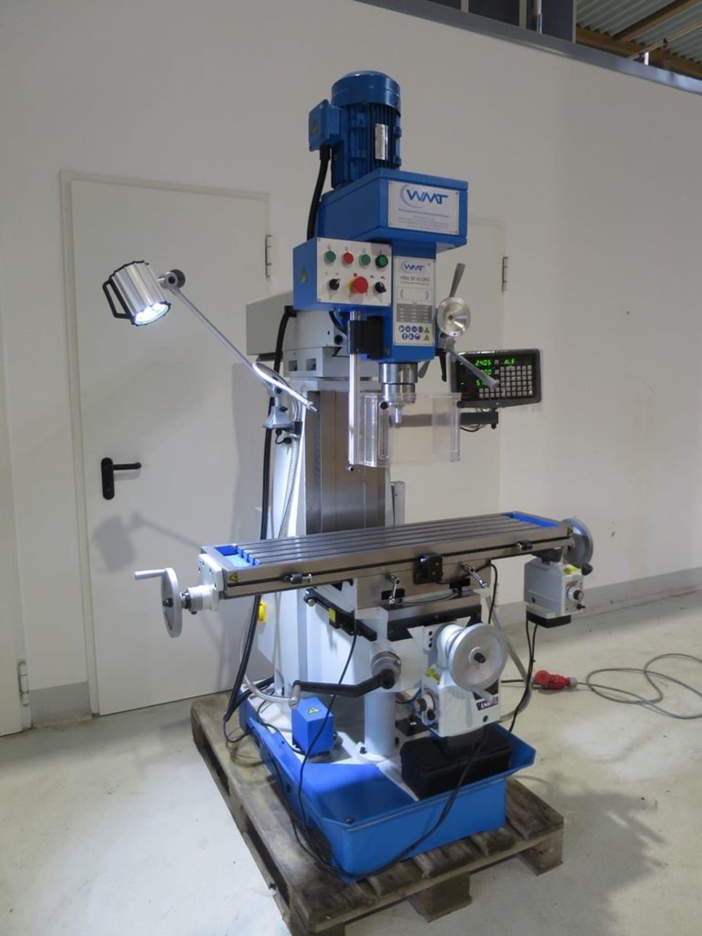 HBM BF 60 DRO Bohr- und Fräsmaschine