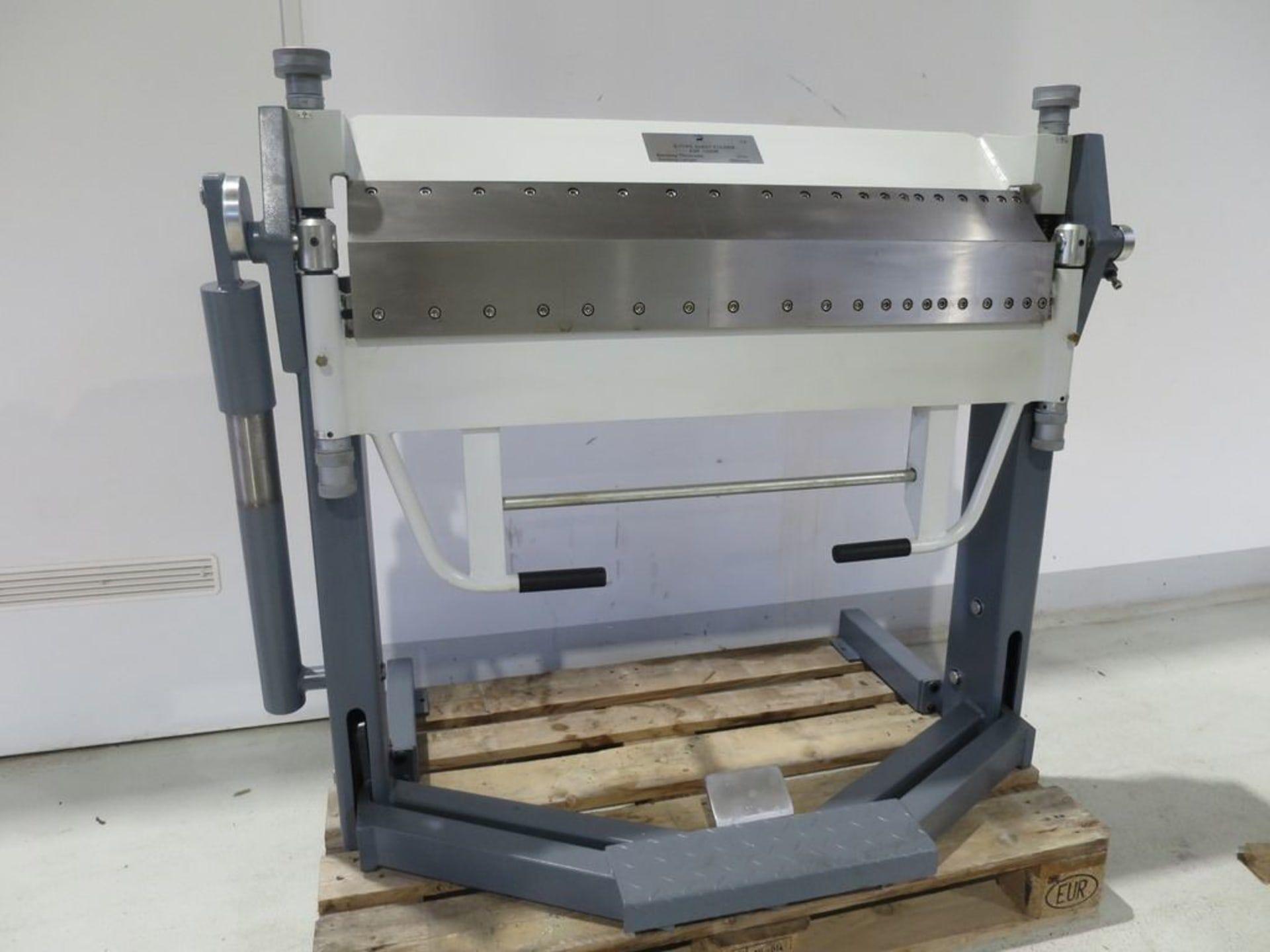 TORO 1020 x 2,0 Segment-Schwenkbiegemaschine