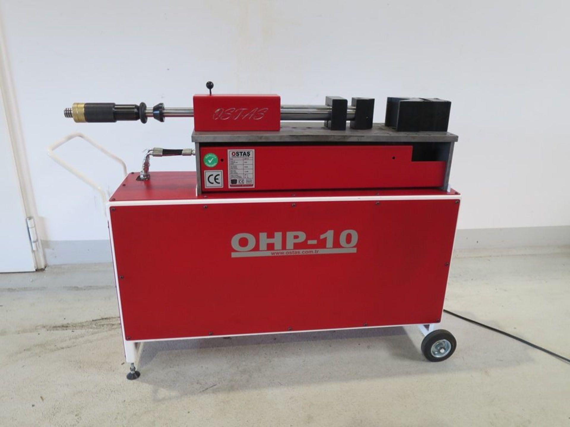 OSTAS OHP - 10 Biegemaschine horizontal