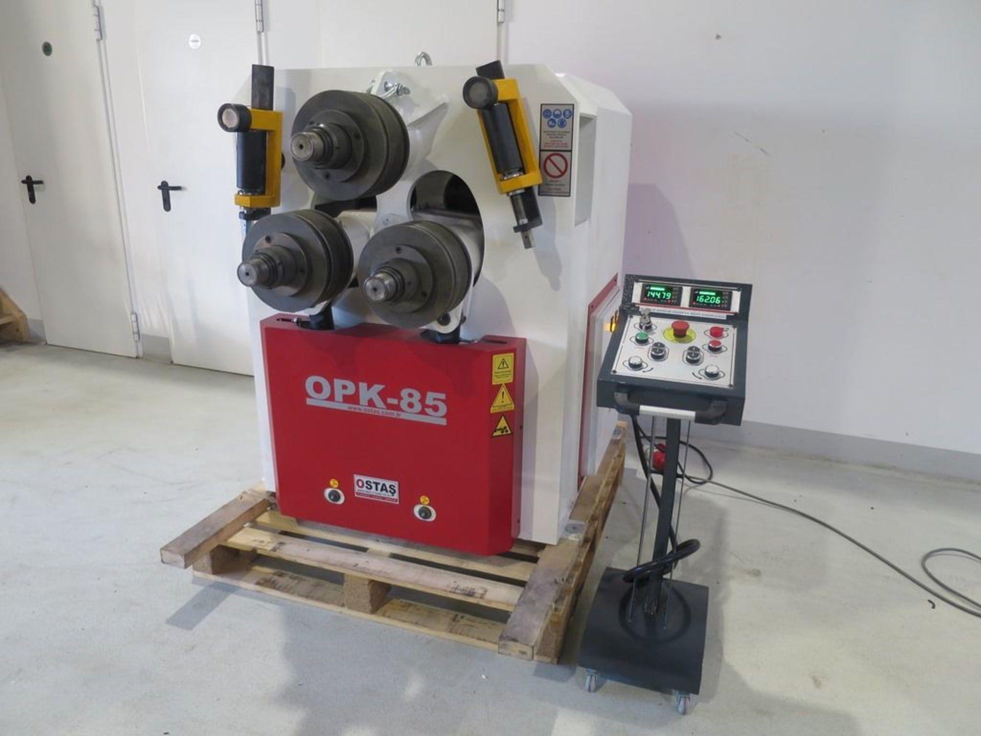 OSTAS OPK 85 Profilbiegemaschine