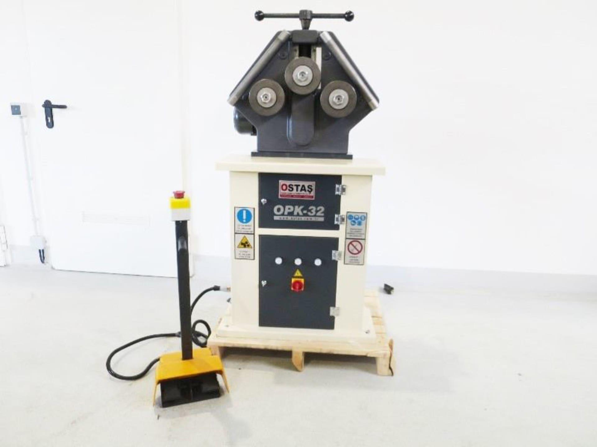 OSTAS OPK 32 Profil- Ring- Biegemaschine