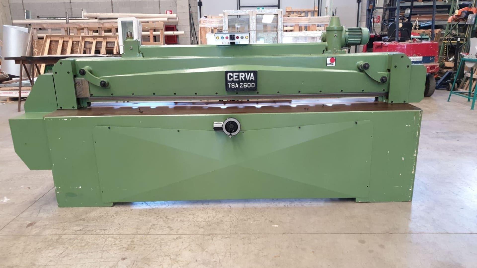 CASATI CERVA 2600 TSA Furnierschneidemaschine
