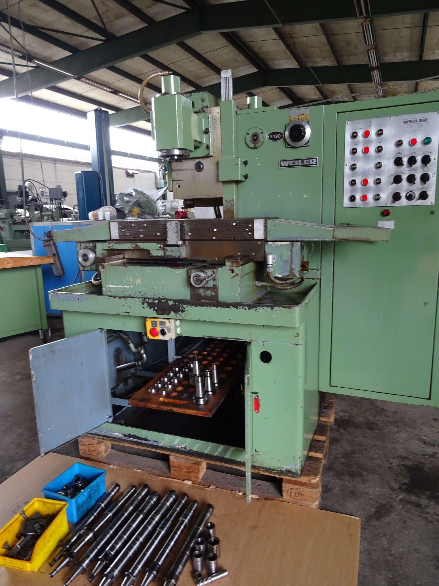 WEILER FHP 750 Starrbett-Fäsmaschine