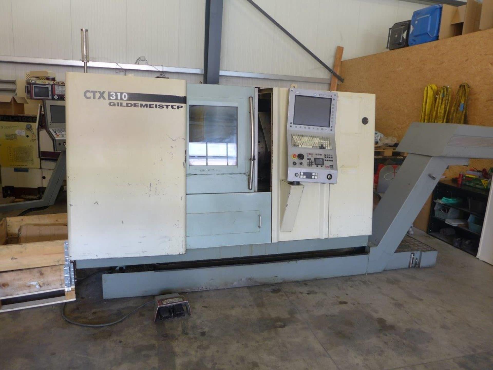 Drehmaschine CNC GILDEMEISTER CTX 310