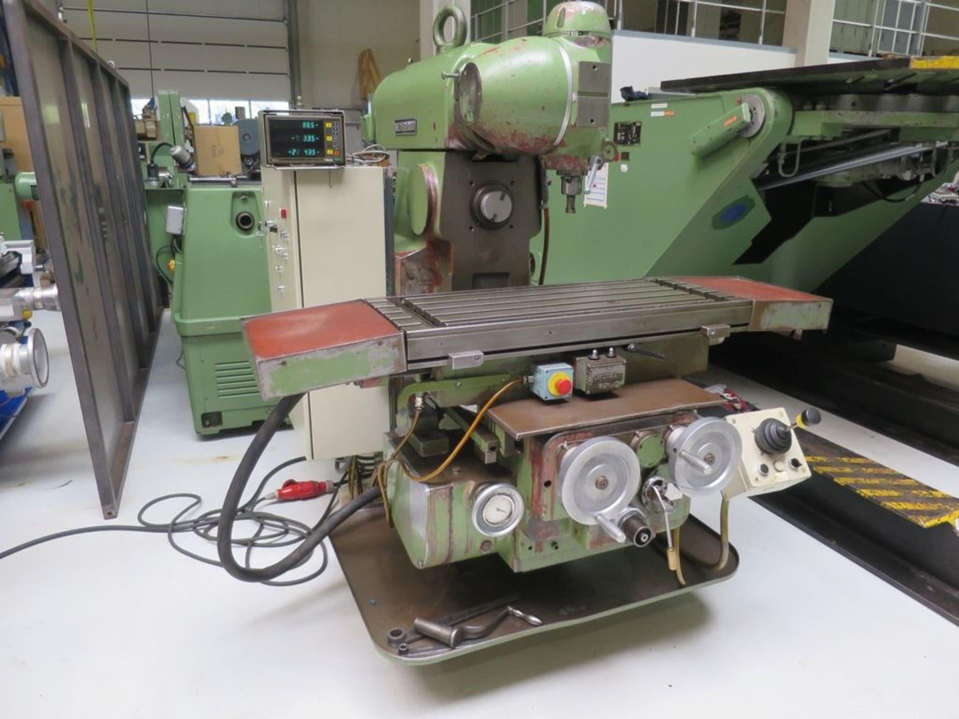 RECKERMANN Kombi 1000 Werkzeugfräsmaschine