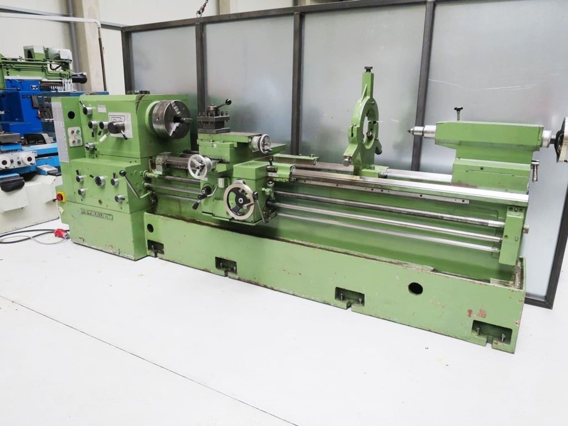 WEYRAUCH DR 300 - 2000 Leit- und Zugspindeldrehmaschine