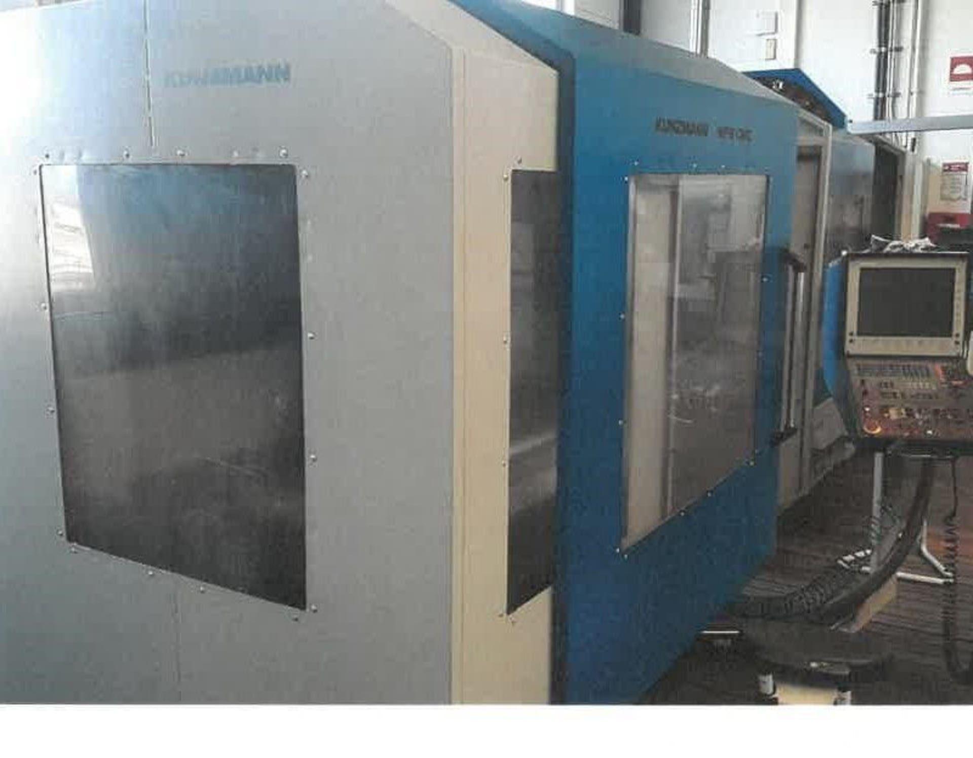 KUNZMANN WF 9 CNC Werkzeugfräsmaschine