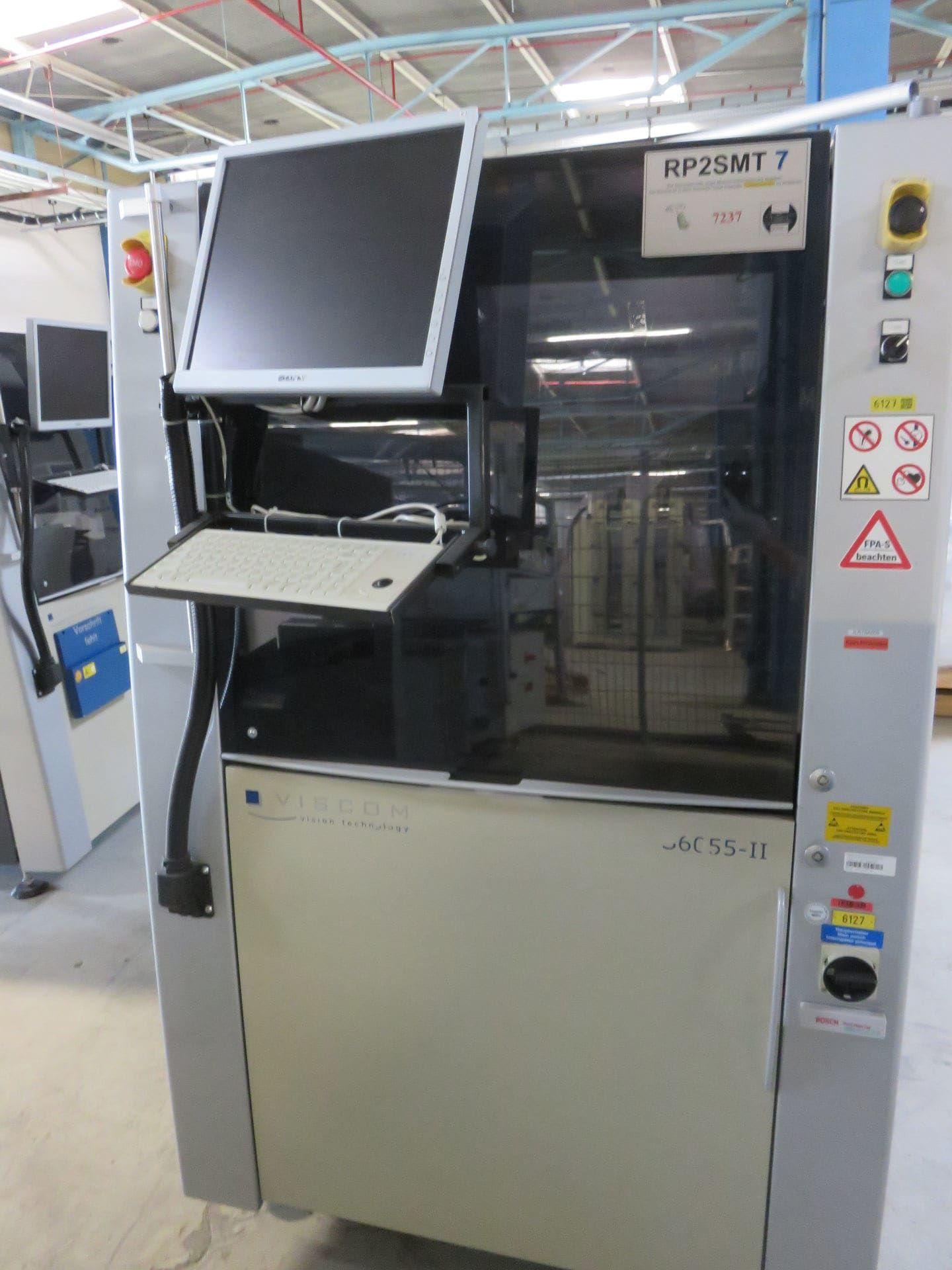 VISCOM AOI S6055II Lötpasten-Kontrollsystem