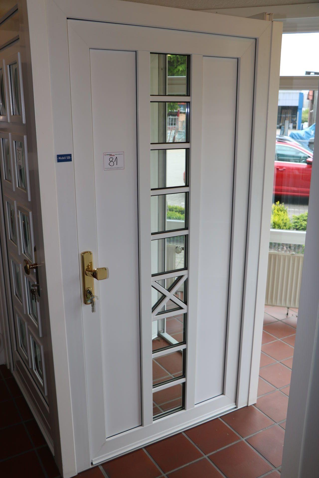 Kunststoff-Haustür