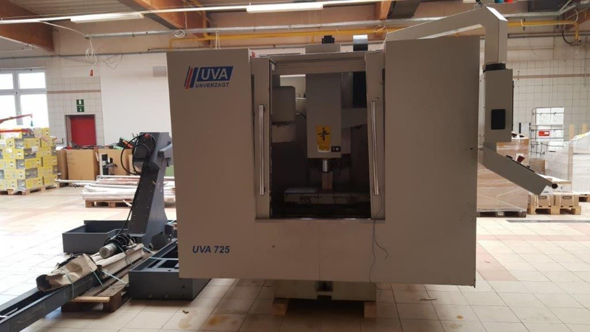 UVA 725 PLUS Vertikal-Bearbeitungszentrum