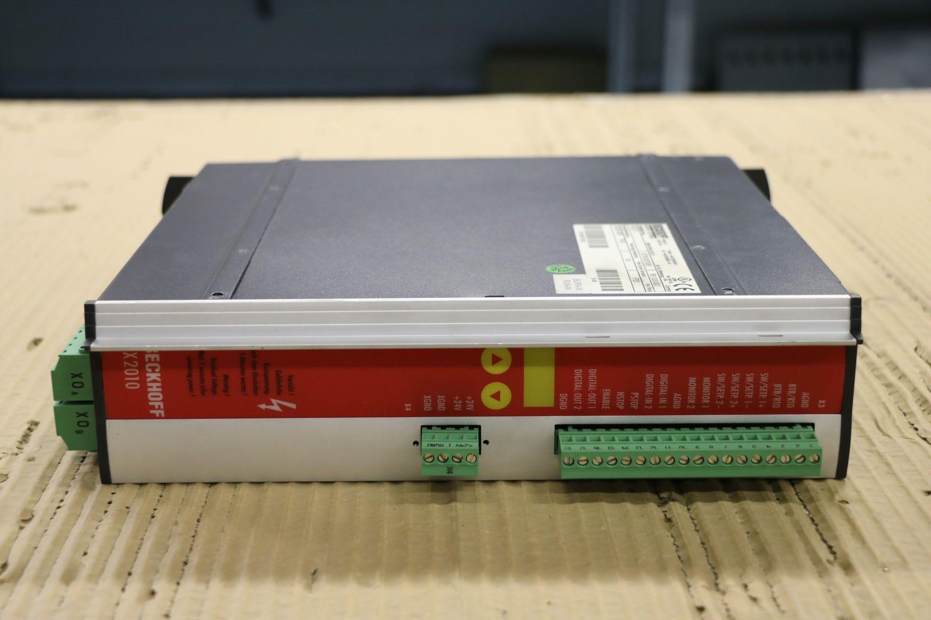 BECKHOFF AX 2010 Digitaler Servo-Verstärker
