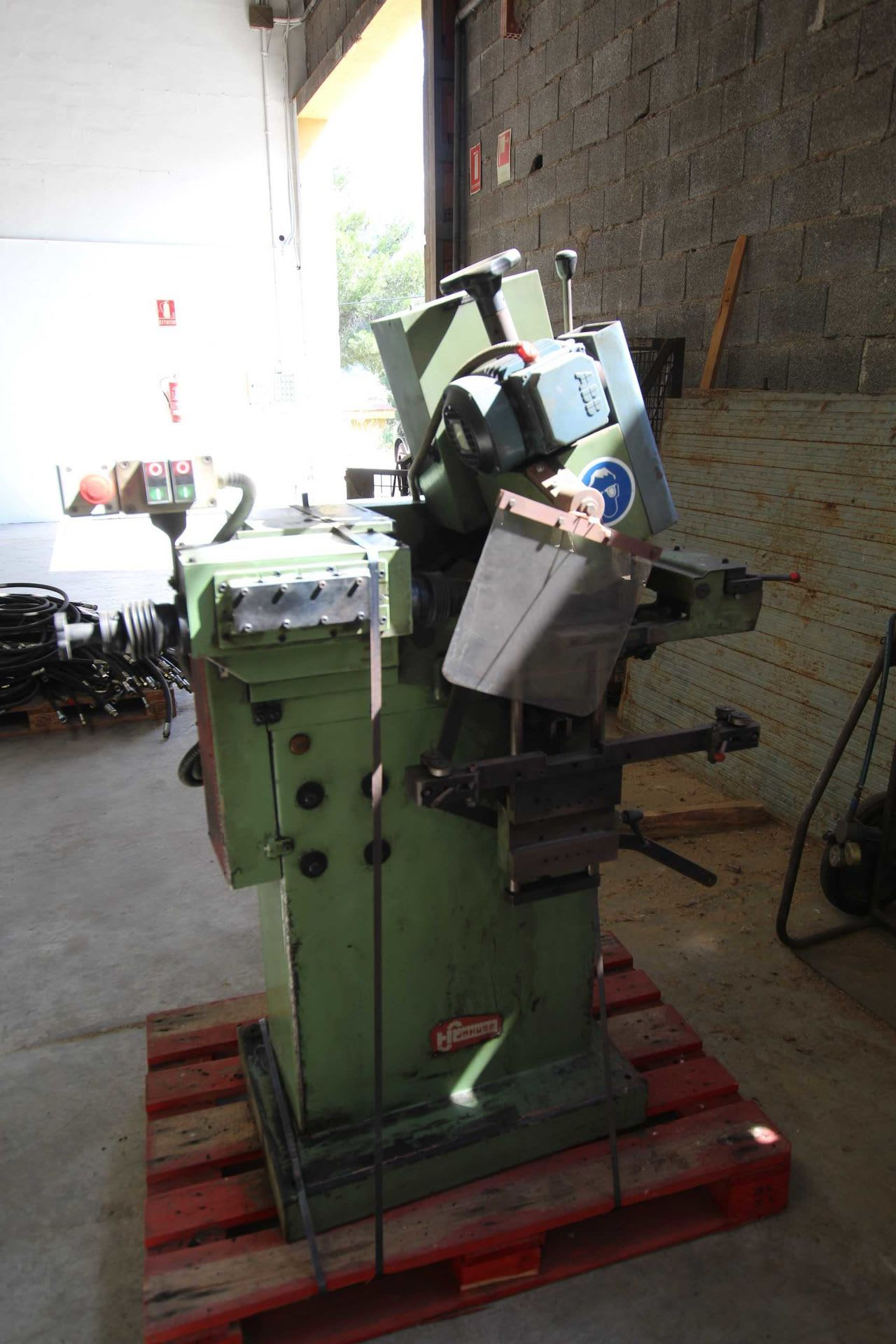 JOHUSE A 18 E Schleifmaschine