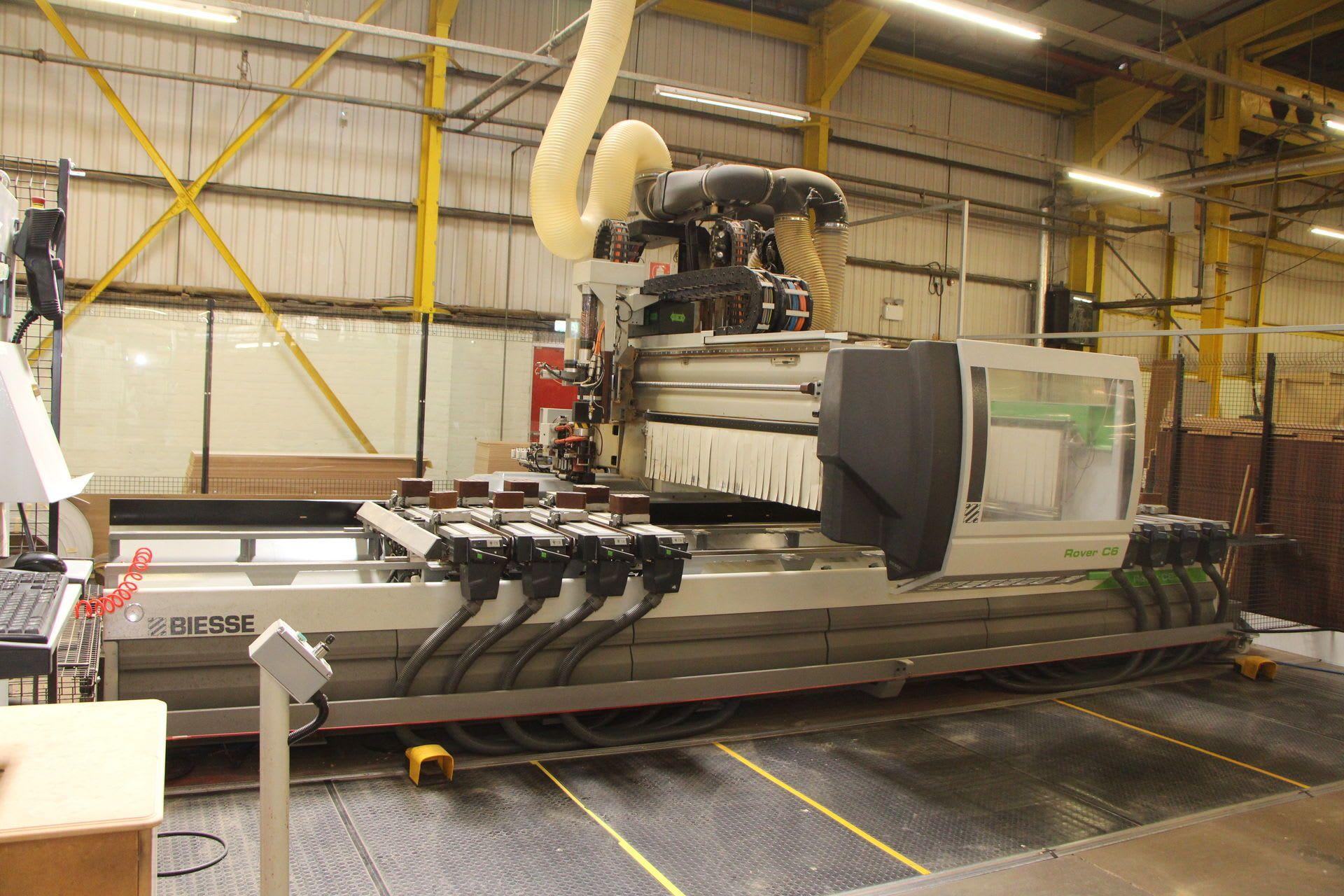 BIESSE ROVER C 6.50 CONF.2 EDGE CNC-Bearbeitungszentrum mit Verleimung