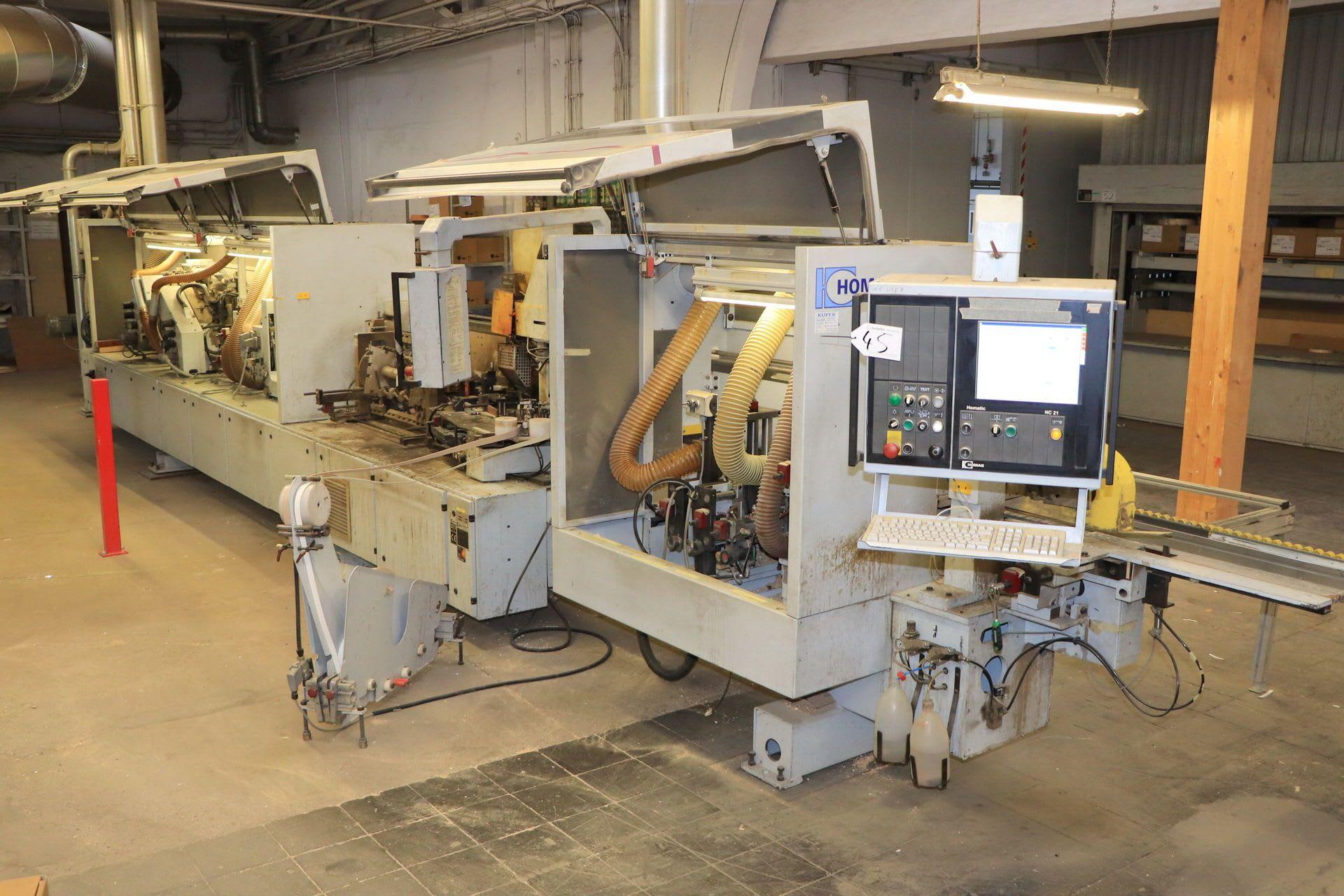 HOMAG OPTIMAT KL 79/03/E 12 Soft- & Postformingmaschine