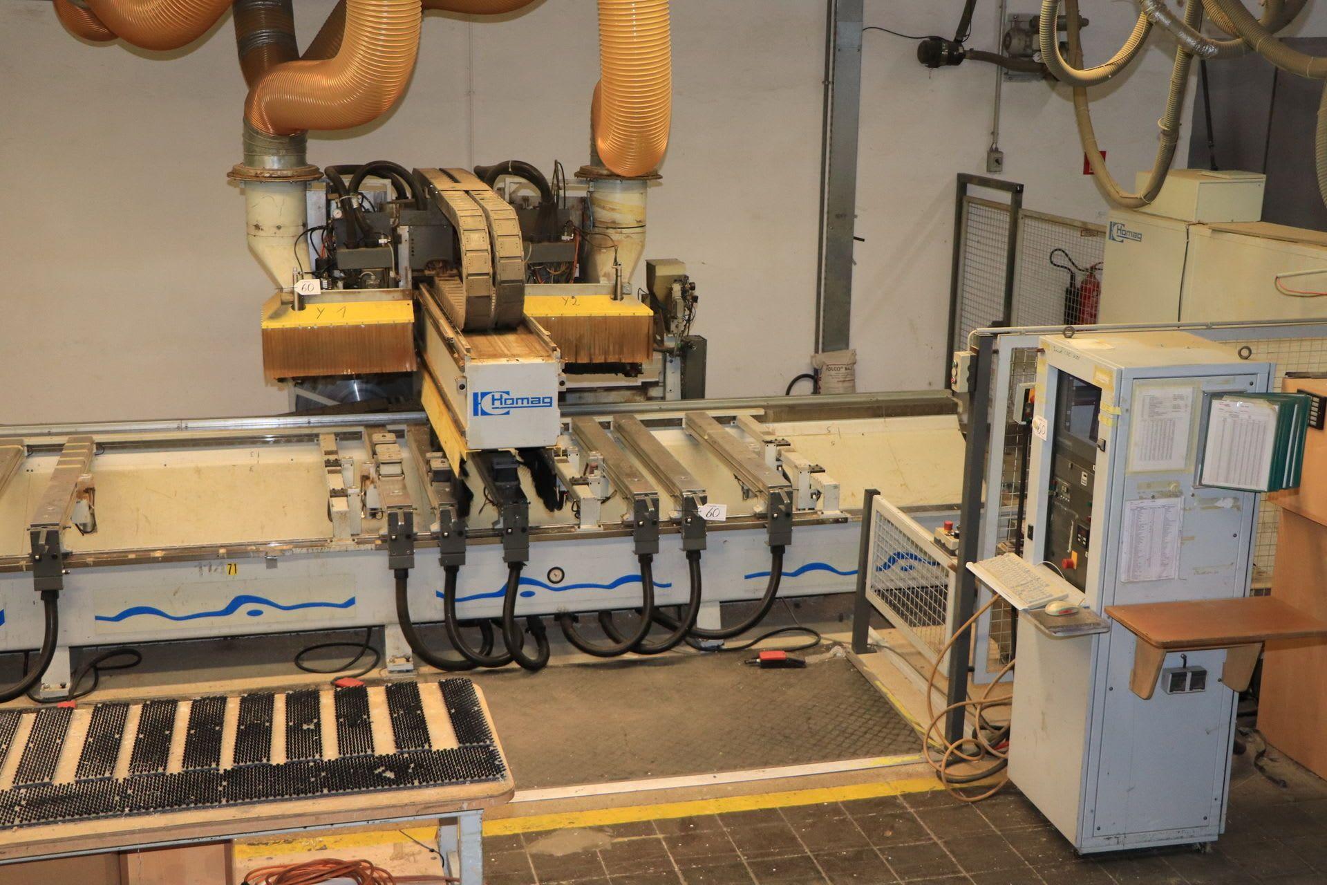 HOMAG BAZ 20/50/14/K CNC-Bearbeitungszentrum
