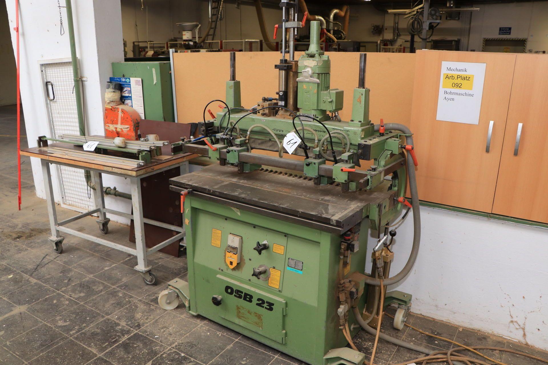 AYEN OSB 23 Reihenloch-Bohrmaschine