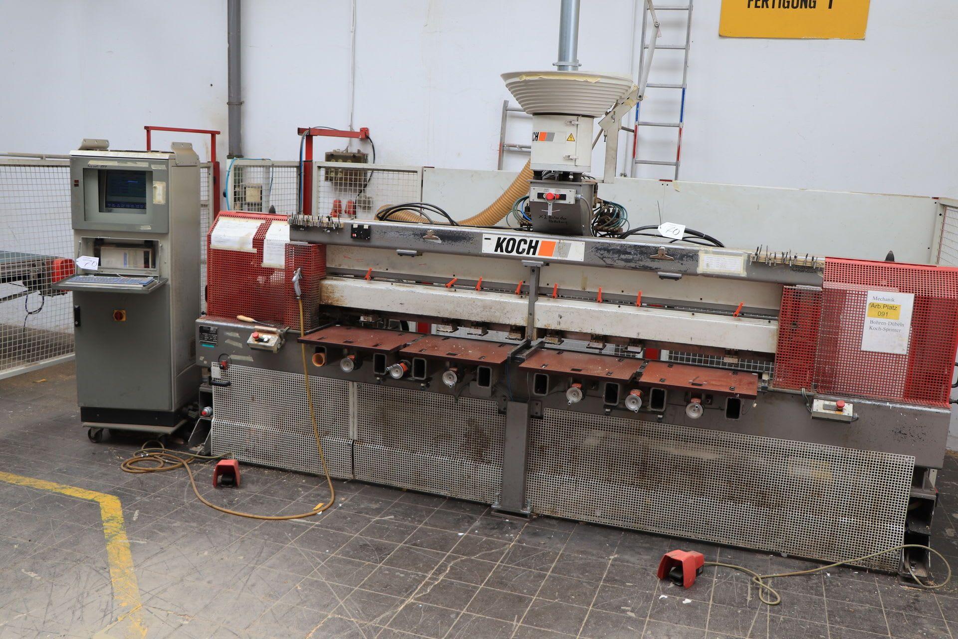 KOCH SPRINT-PLUS-L Bohr- und Dübeleintreibmaschine