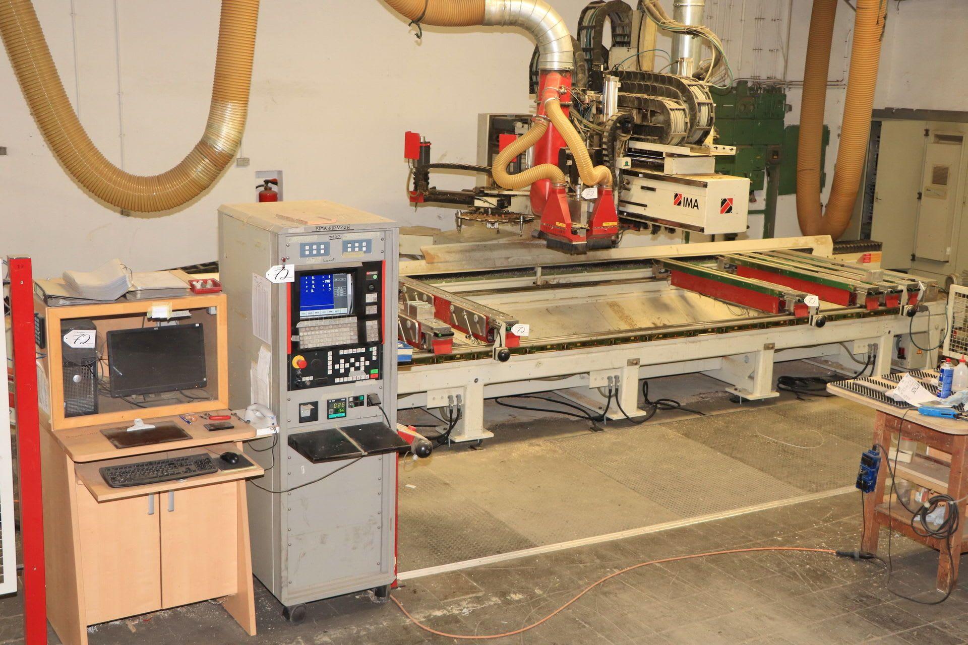 IMA 810 V CNC-Bearbeitungszentrum