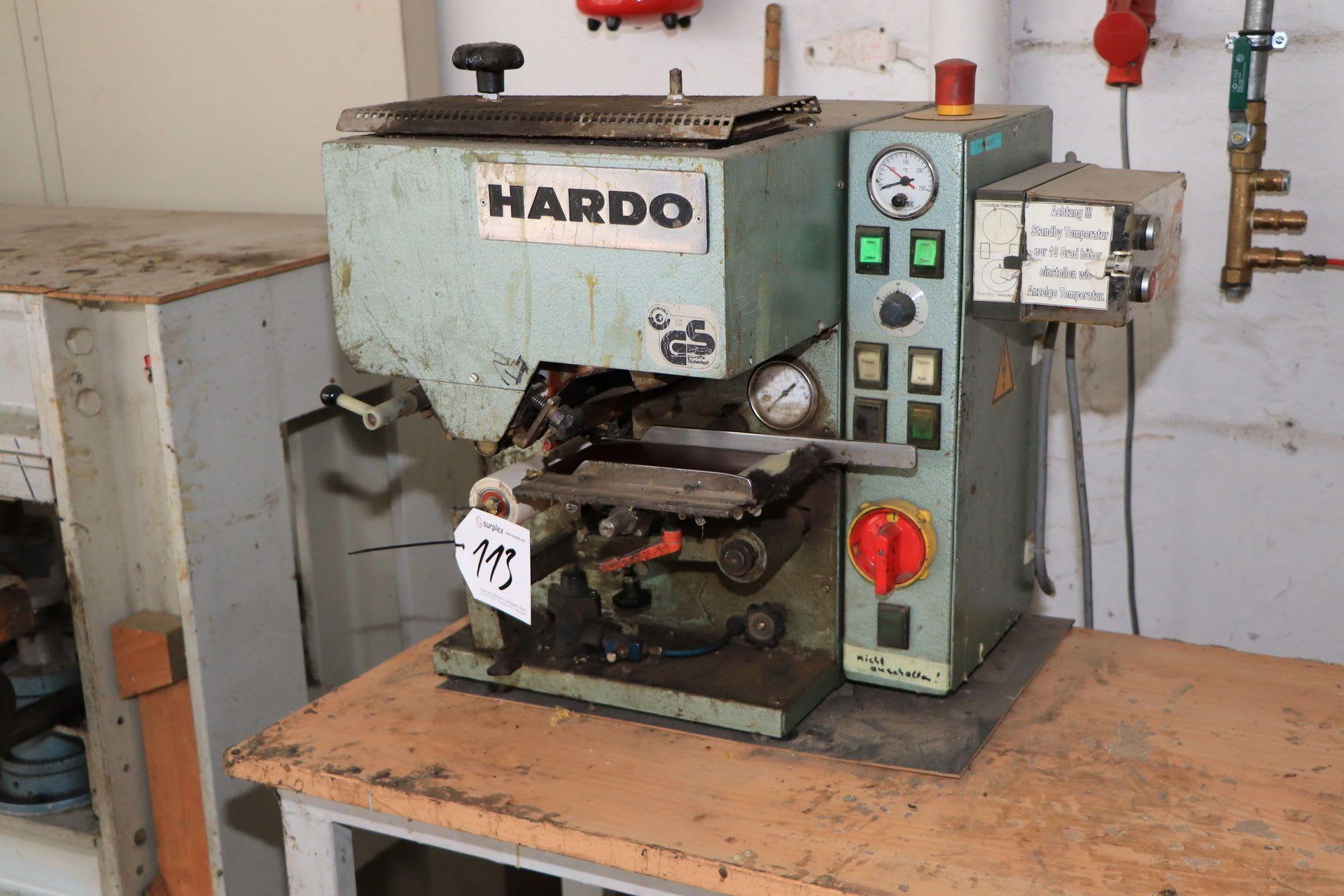 HARDO T 150 Leimauftragsmaschine