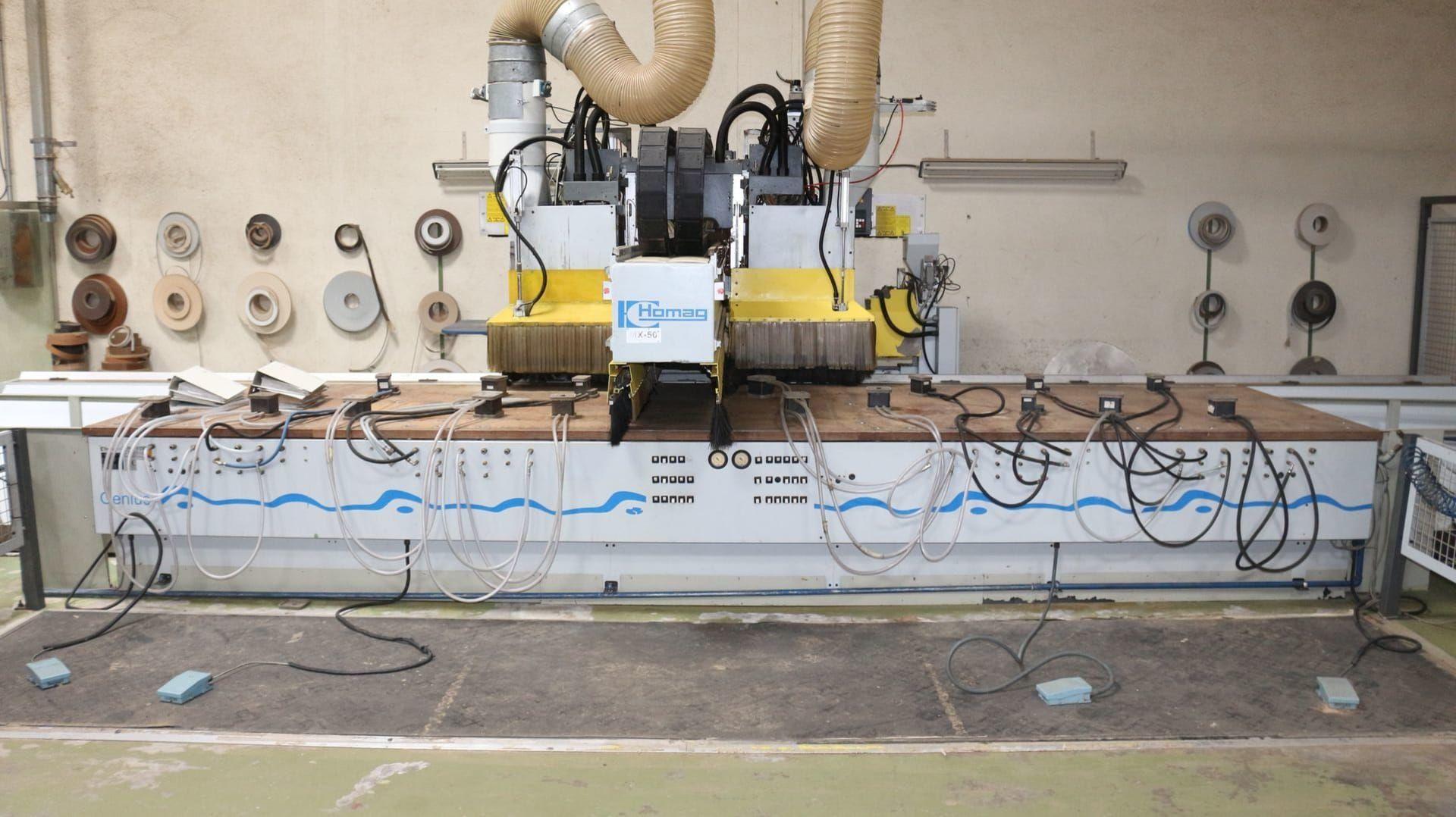 HOMAG BAZ 20 50 14 2 G CNC-Bearbeitungszentrum mit Kantenanleimgerät