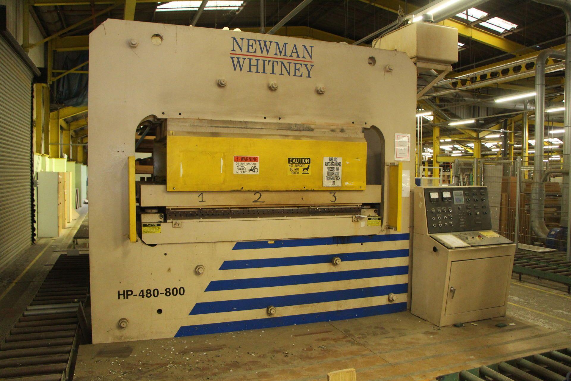 NEWMAN WHITNEY HP 480-800 Hydraulikpresse