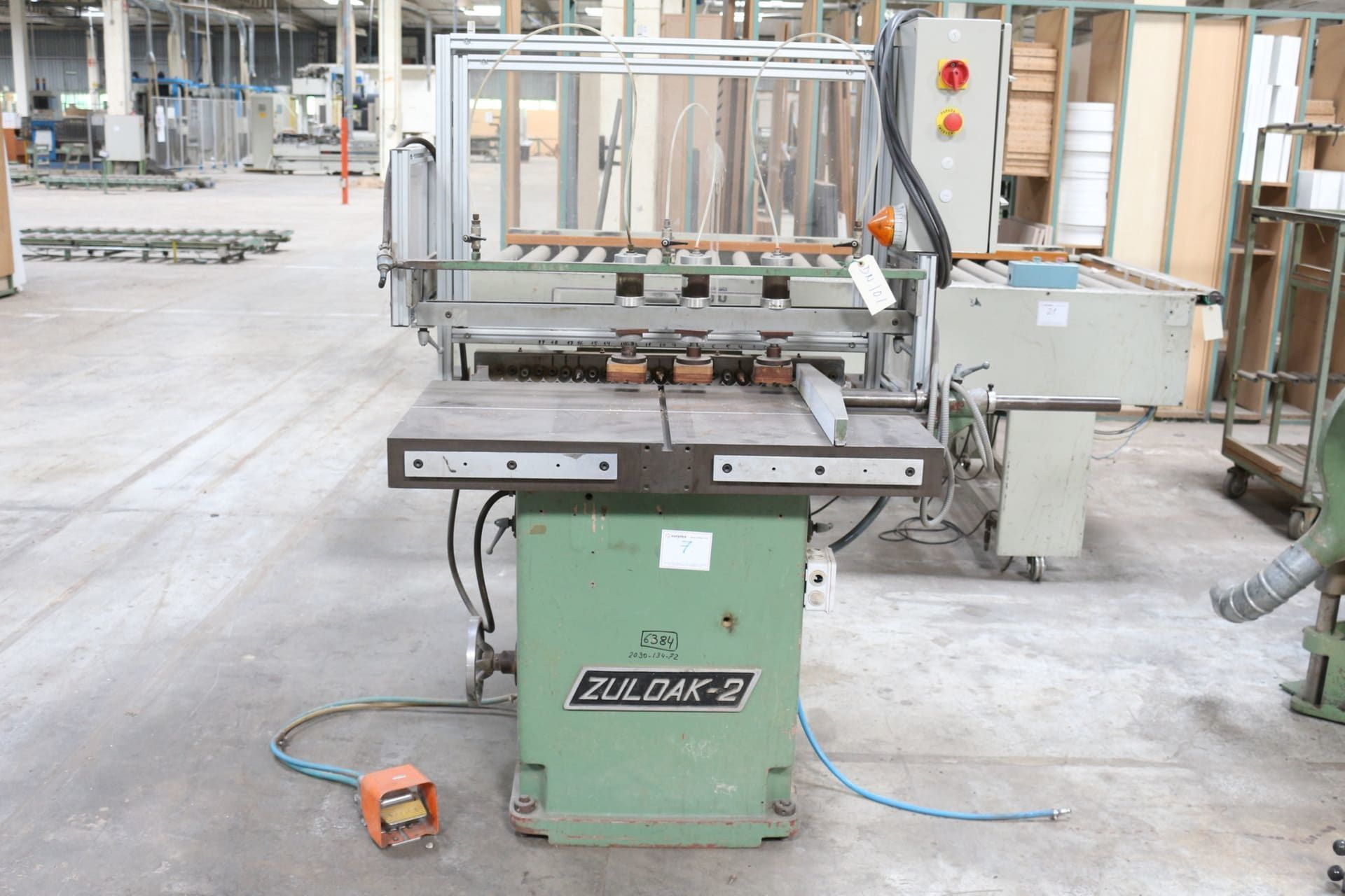 ZUBIOLA ZULOAK 2 Mehrfachbohrmaschine