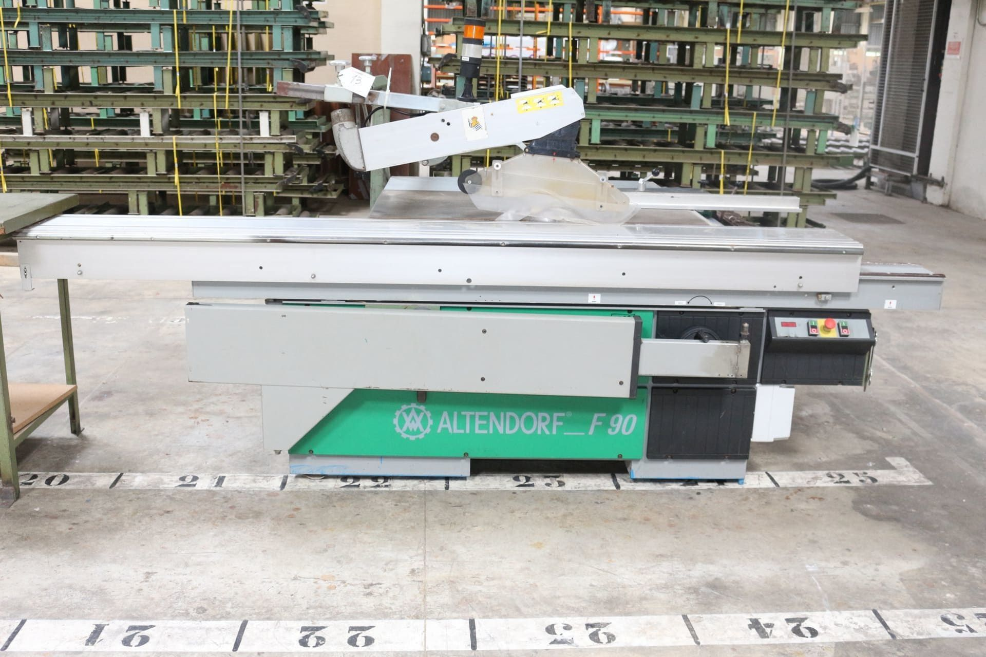 ALTENDORF F 90 Formatkreissäge