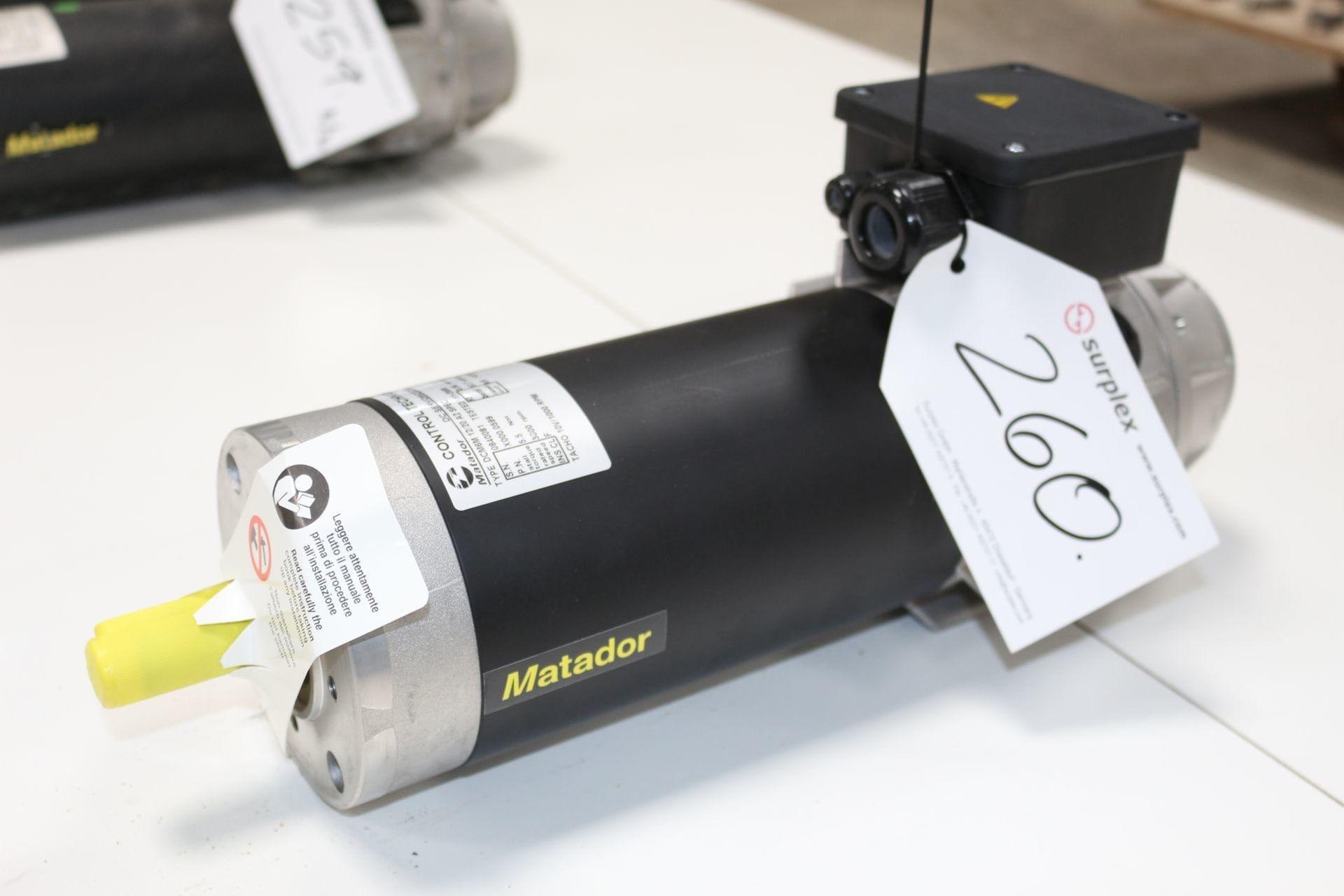 MATADOR DCM 6 M 12 20 A 2 Servomotor