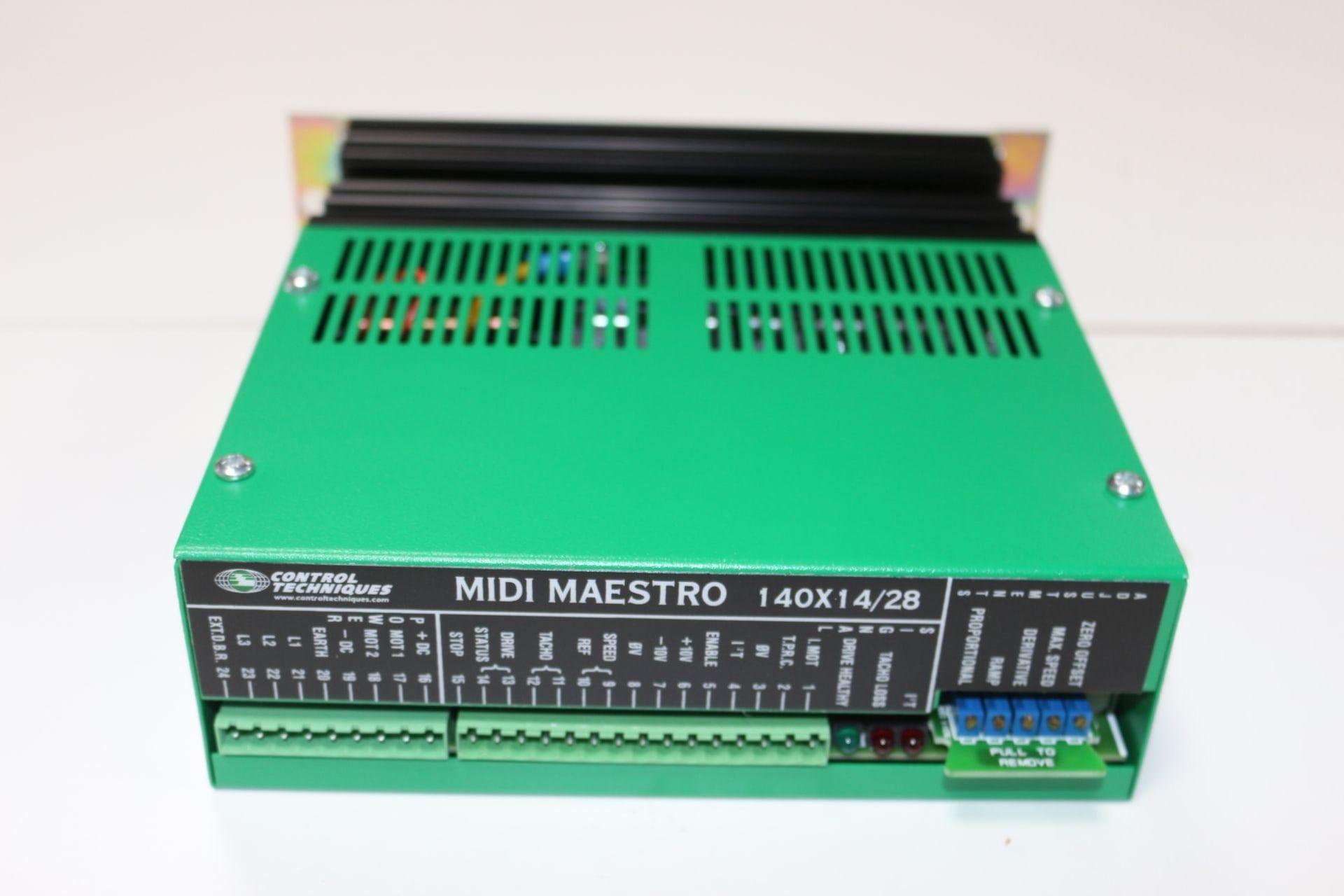 CONTROL TECHNIQUES MIDI-MAESTRO 140 x 14 / 28 Posten Servoantriebe