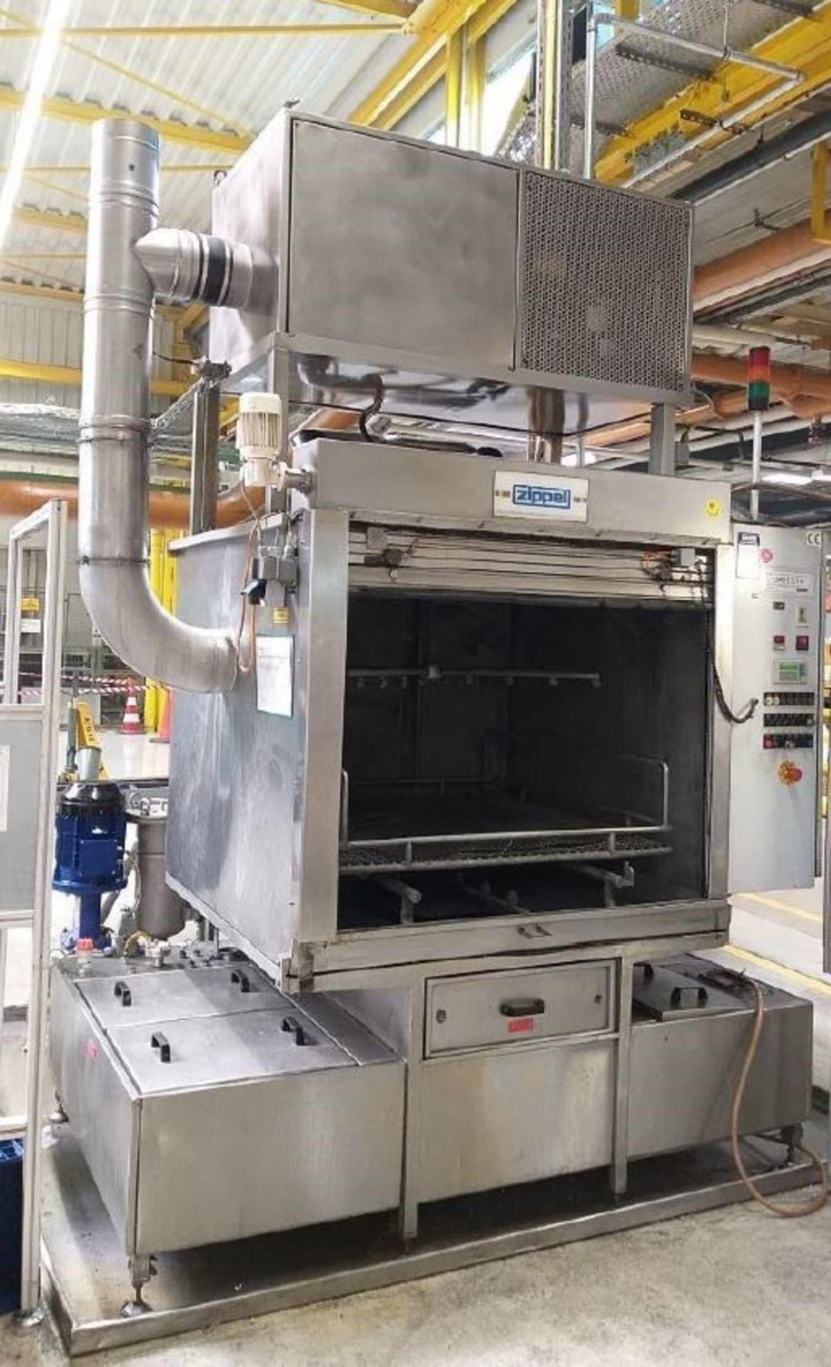 ZIPPEL REMA-K1-130-2 LB Teilereinigungsanlage