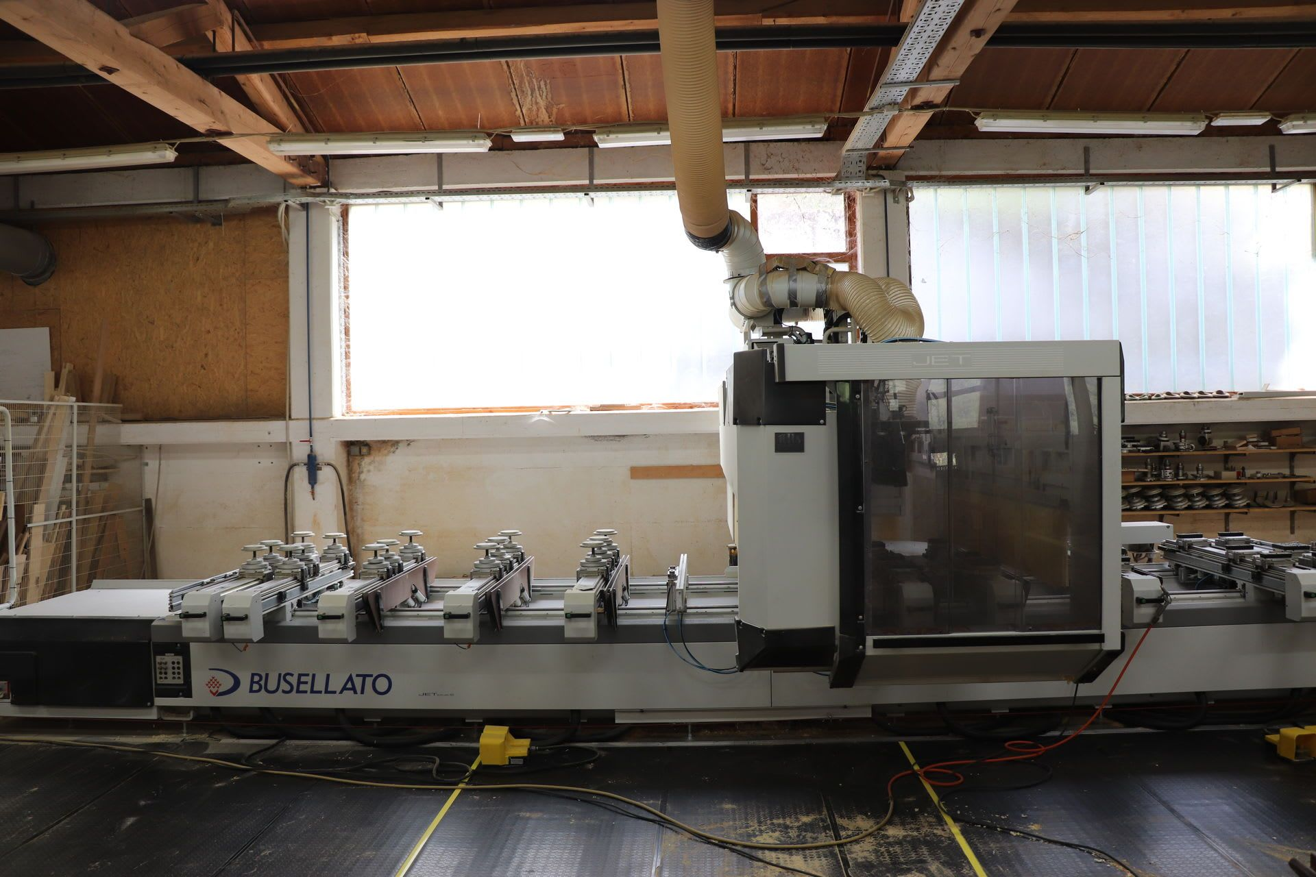 BUSELLATO Jet Plus XXL CNC-Bearbeitungszentrum