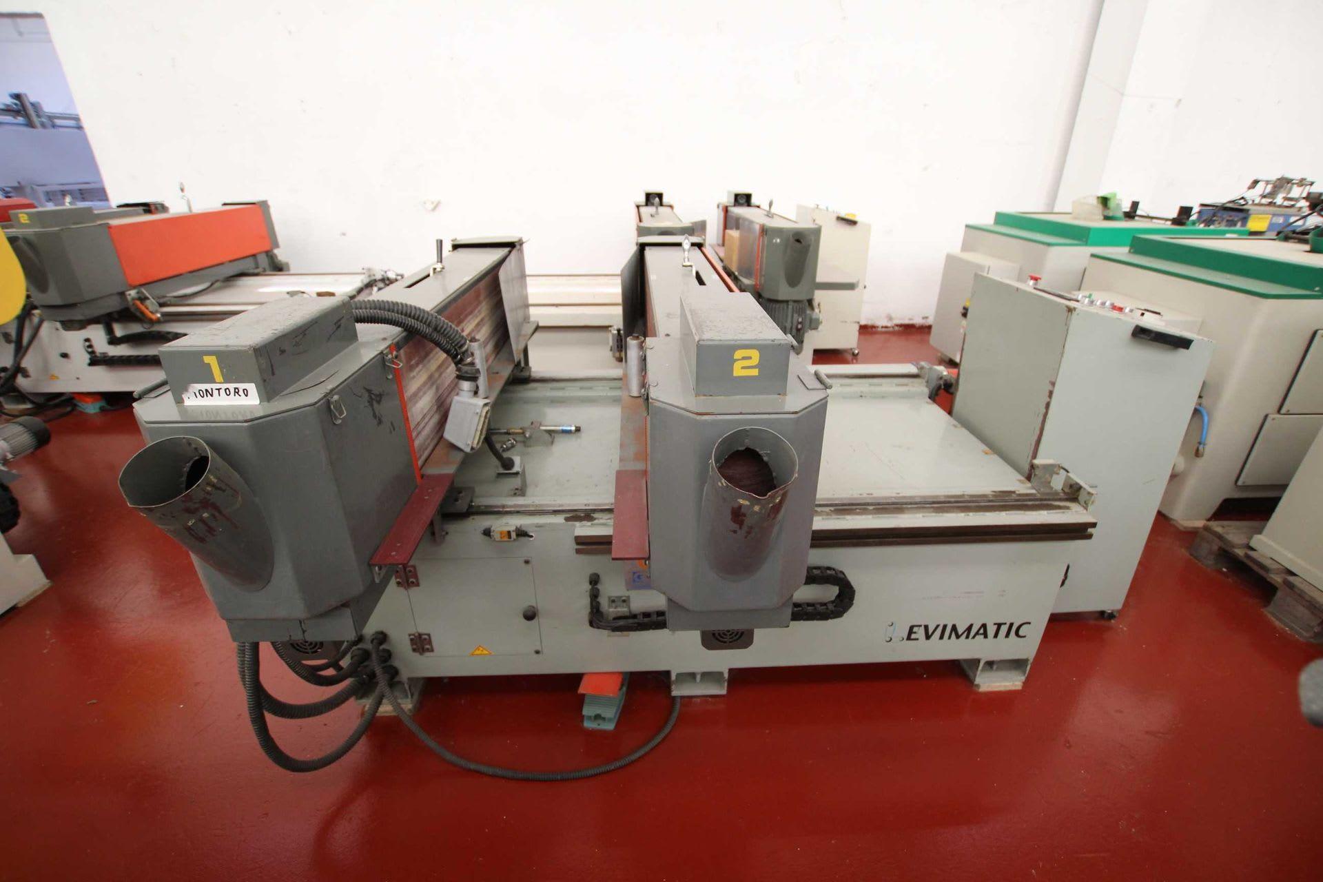 LEVIMATIC PW-12H Langbandschleifmaschine für Schubladen