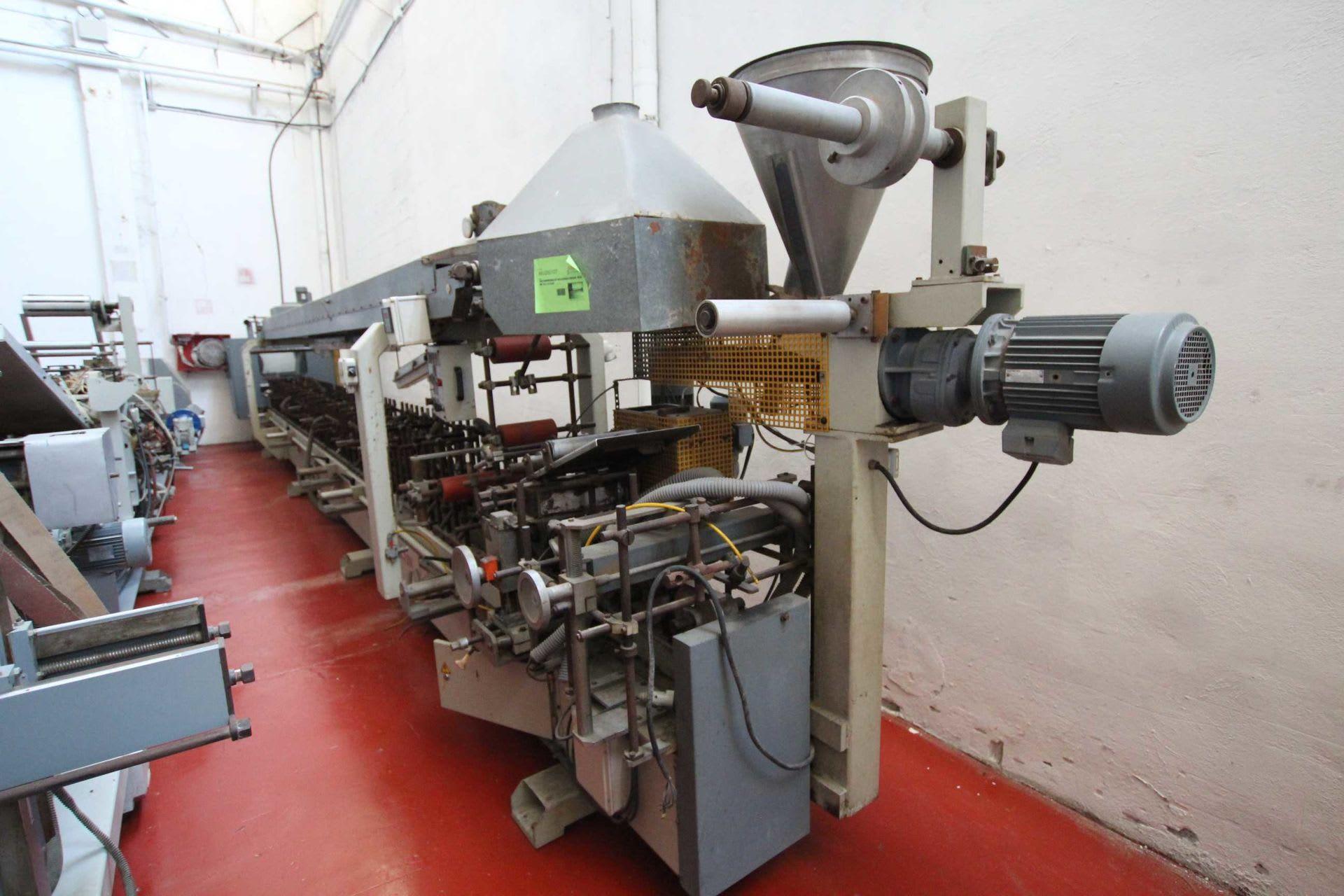 AGUIRREZABALA MR 30 L 10 COMB Profilummantelungsmaschine