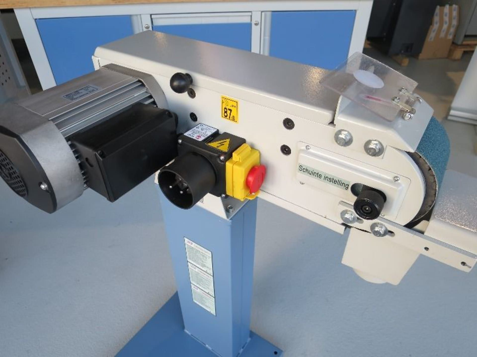 HBM 100 x 1220 Bandschleifmaschine