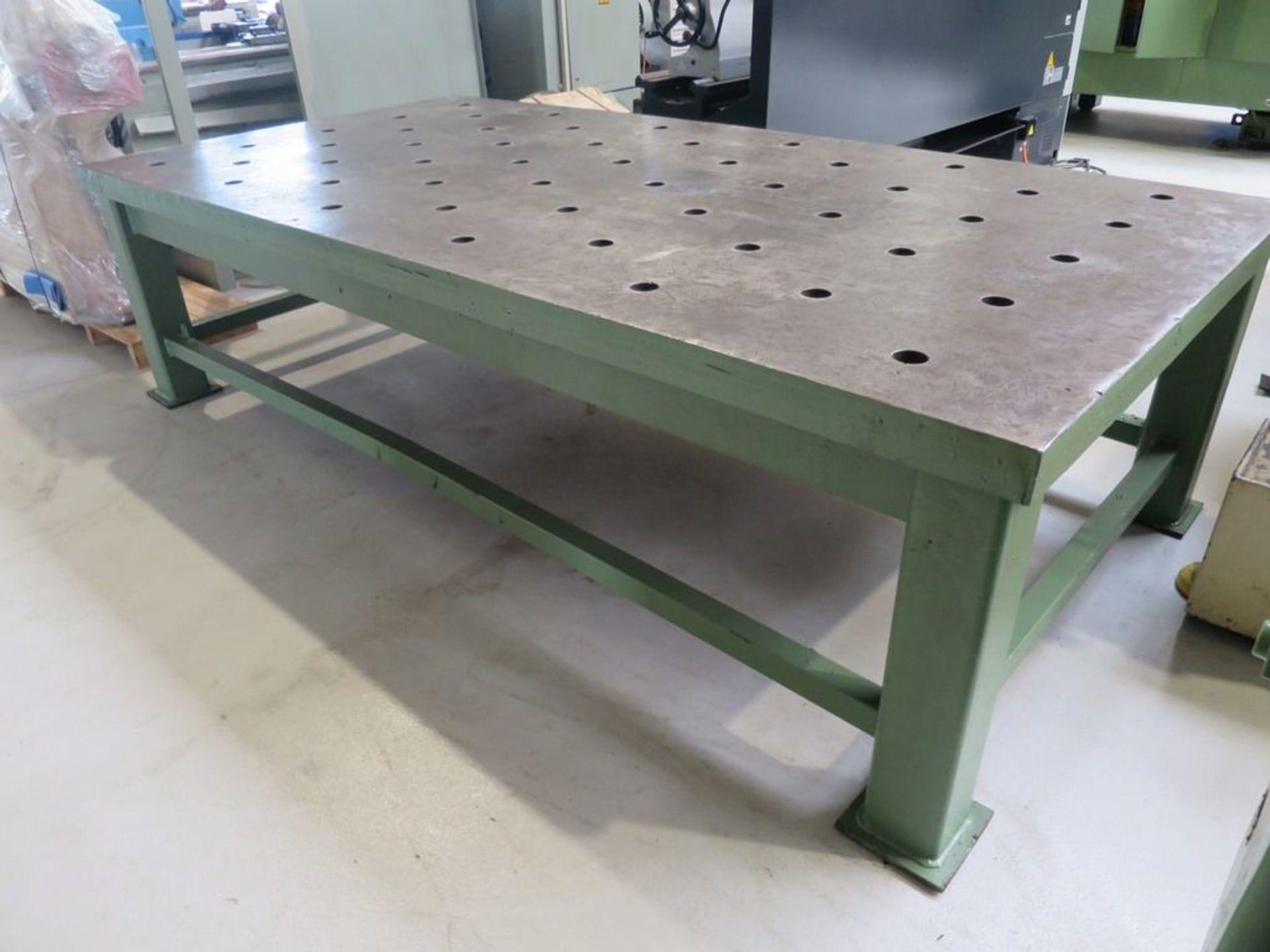 UNBEKANNT 3000 / 1500 Schweiß- / Montagetisch