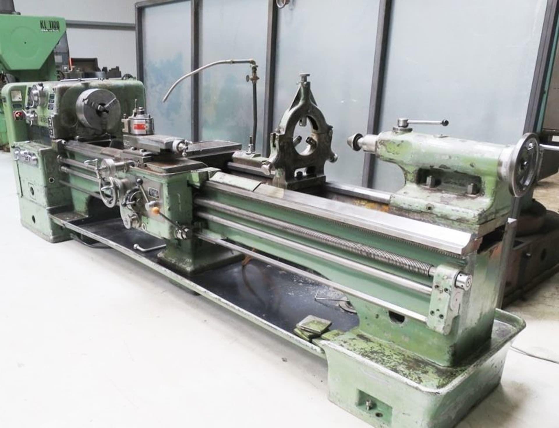 WEIPERT W 500 Leit- und Zugspindeldrehmaschine