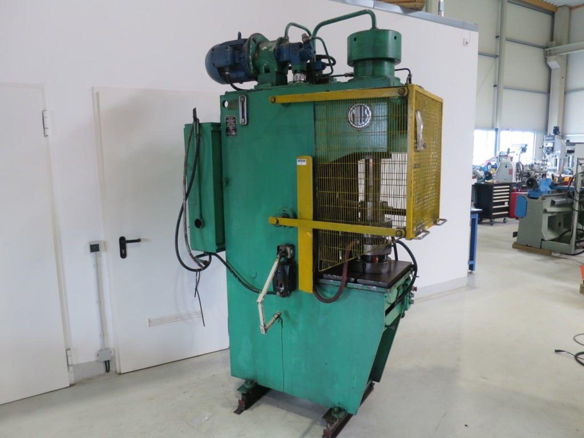 MILLS P 78002 Einständer Hydraulikpresse
