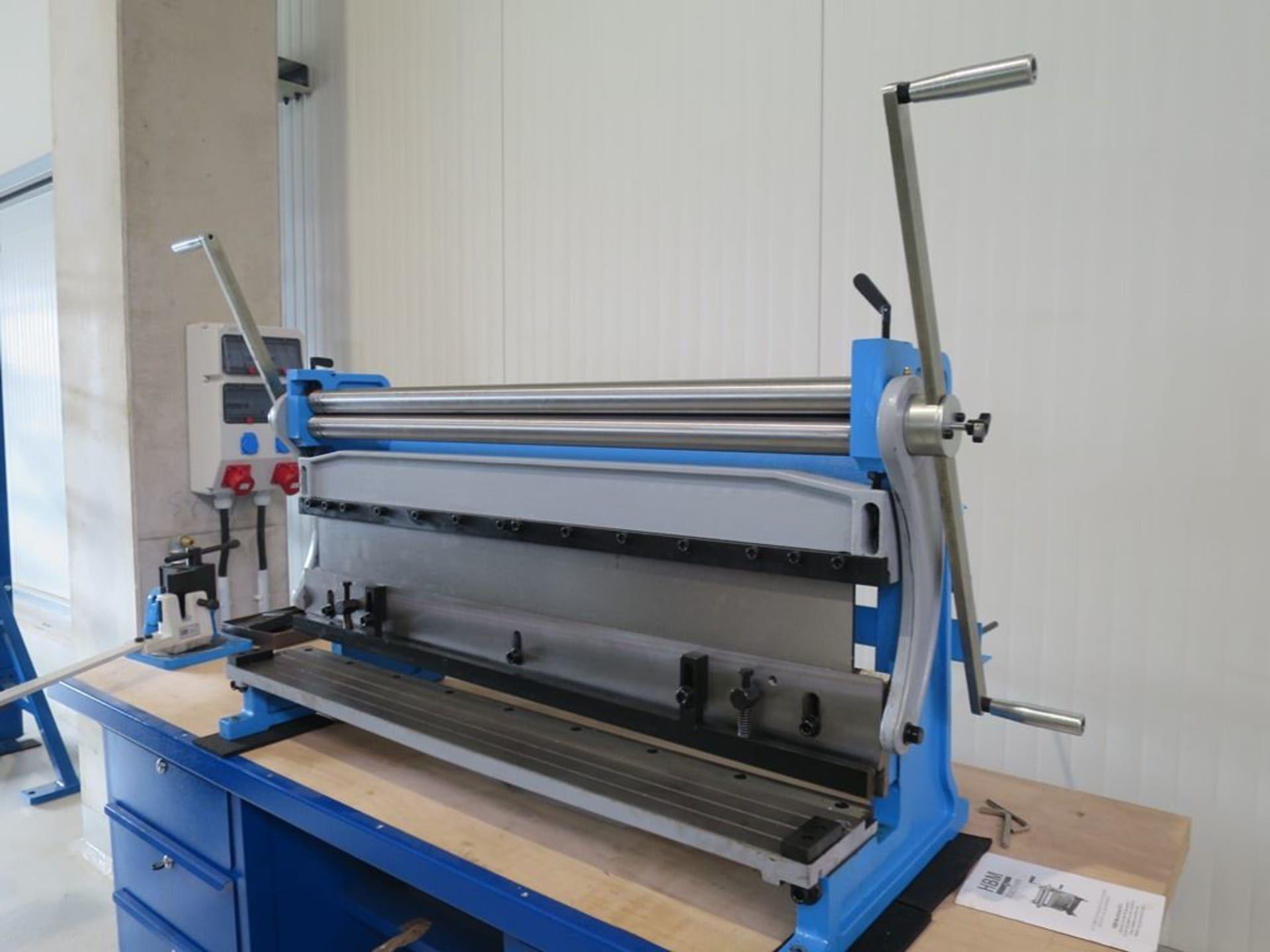 HBM 1015-1 Kombi-Blechmaschine