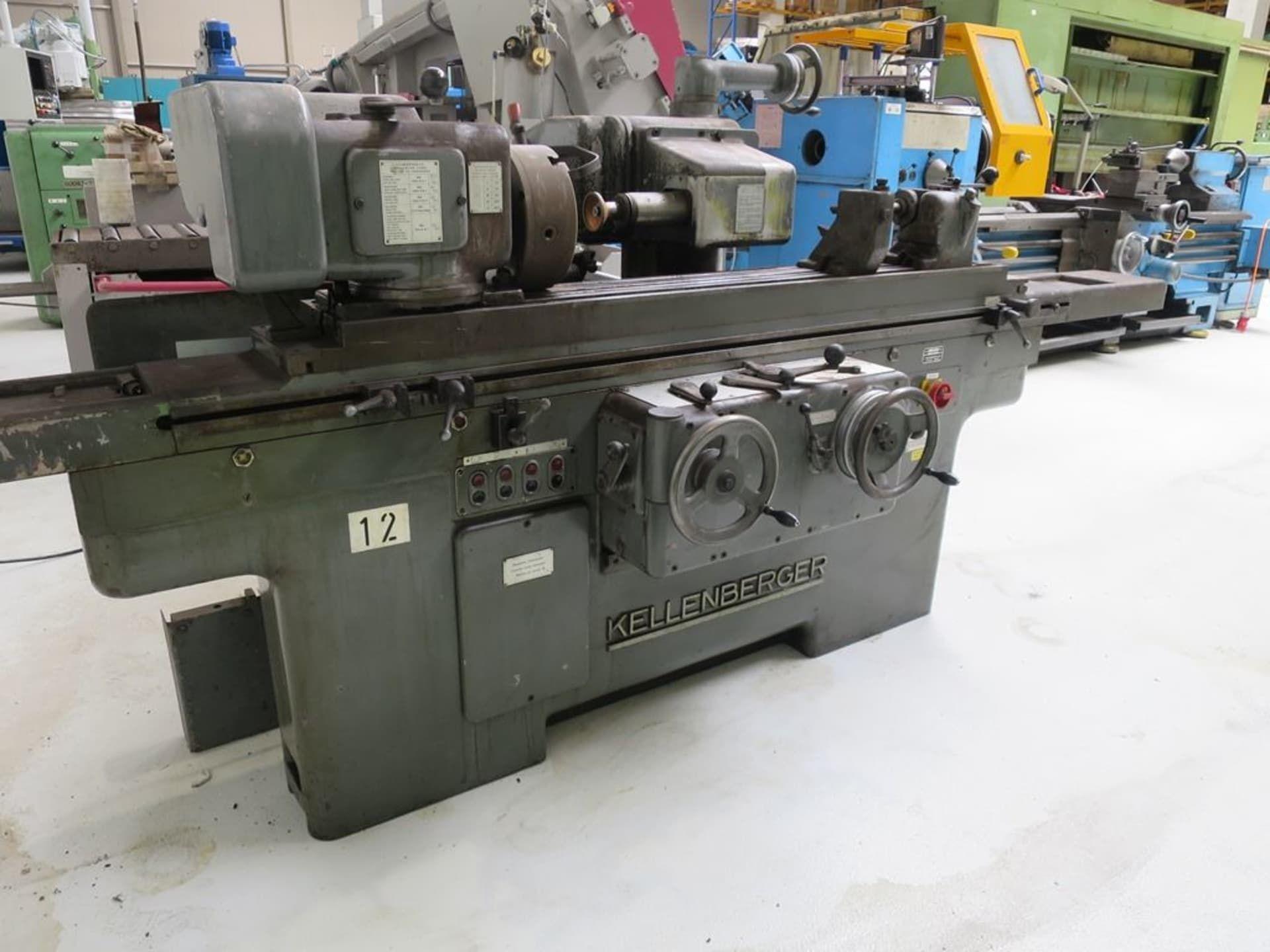 KELLENBERGER 51 MU Rundschleifmaschine Universal