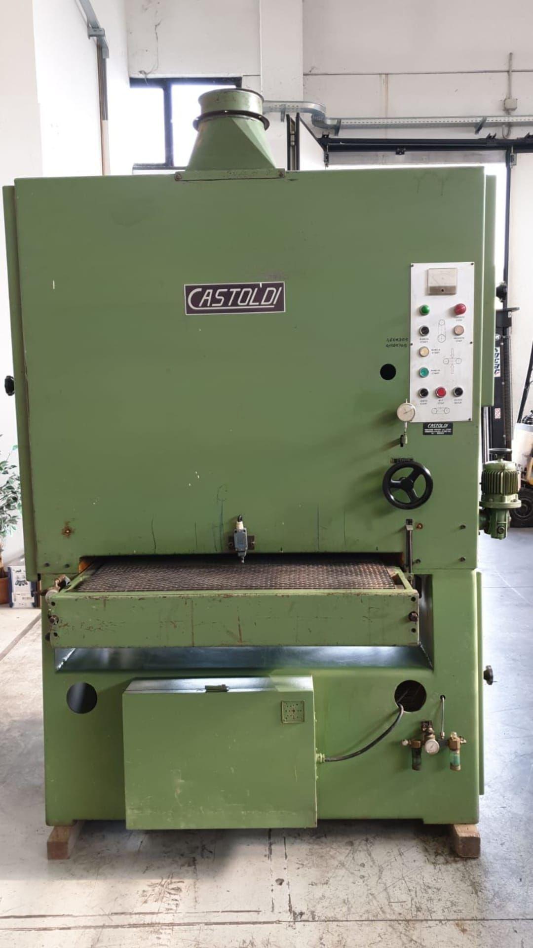 CASTOLDI R1/1000 Breitbandschleifmaschine