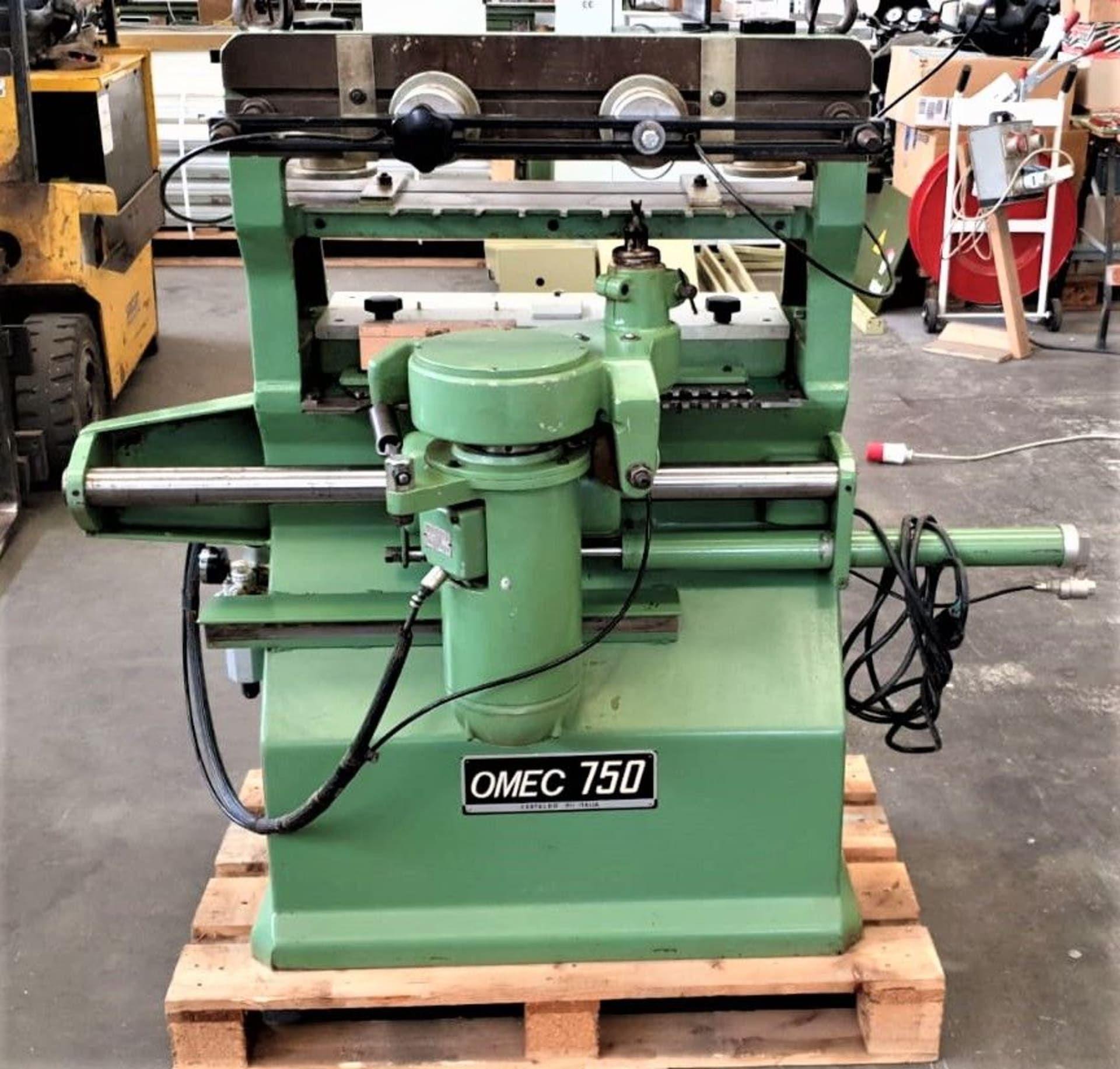 OMEC 750 Schubladen-Fräsmaschine