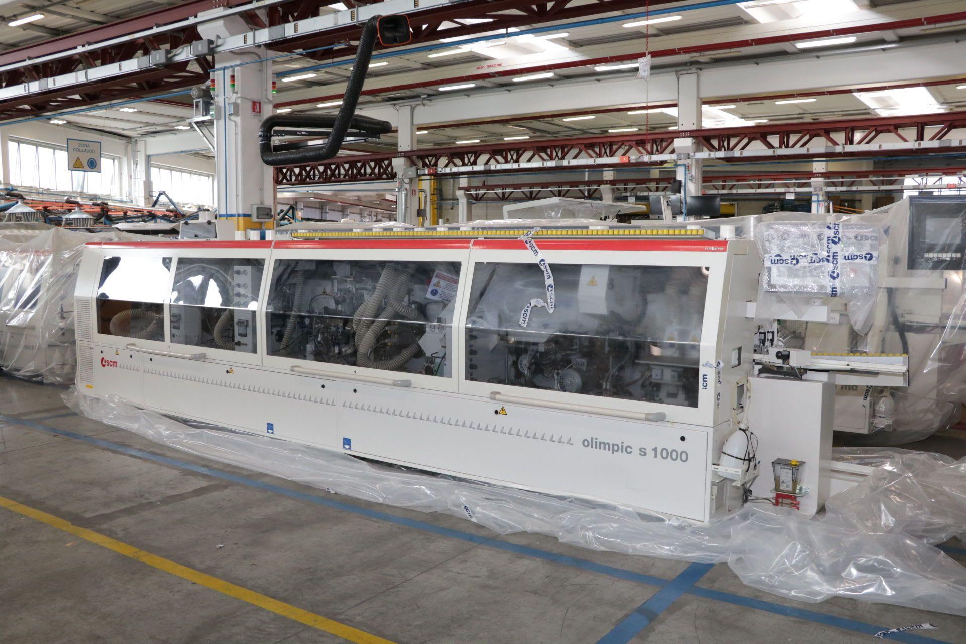 SCM OLIMPIC S1000R T-ER4L Kantenanleimmaschine