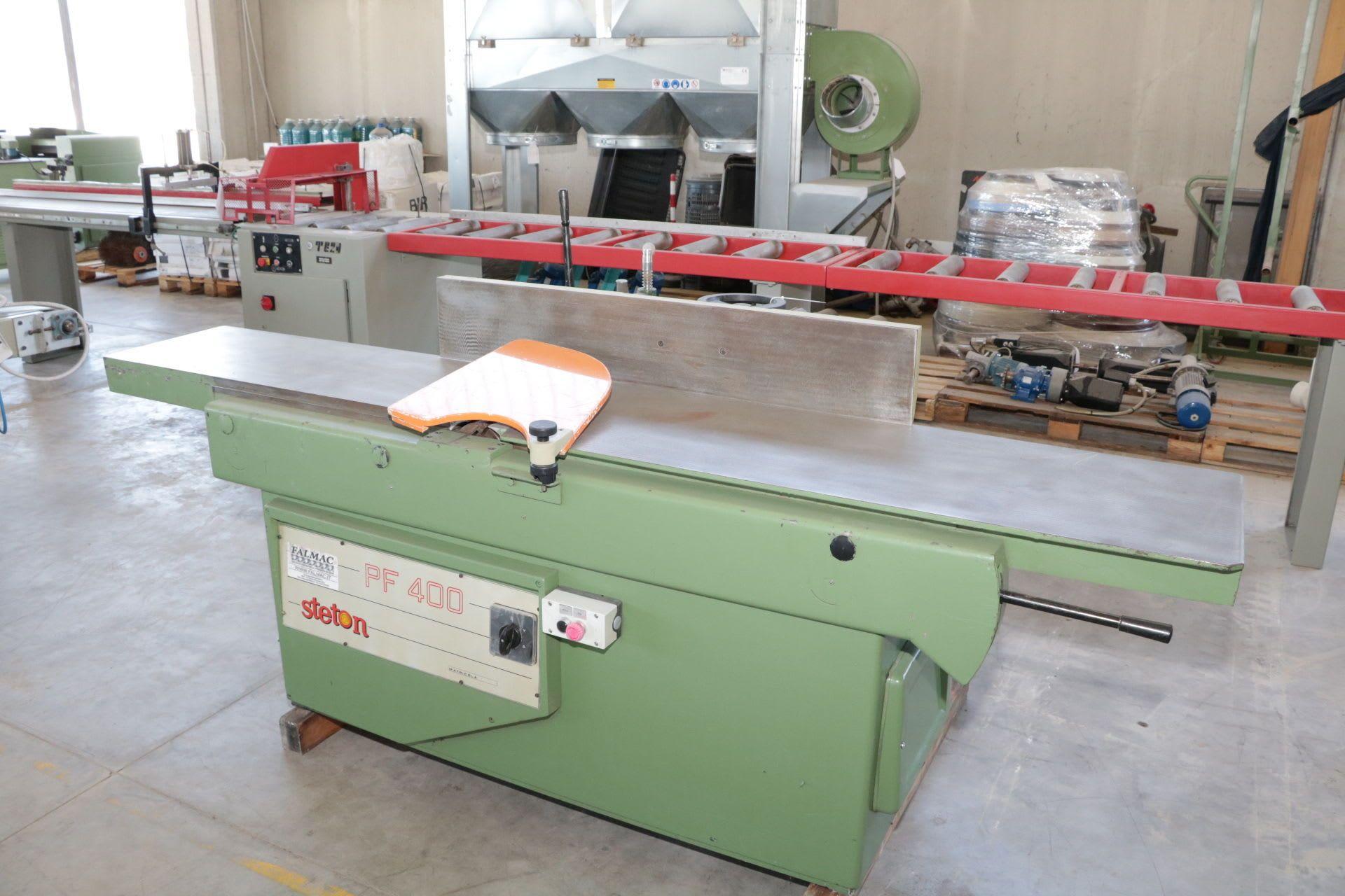 STETON PF 400 Kombinierte Maschine/Abrichthobel/Kettenstemmer