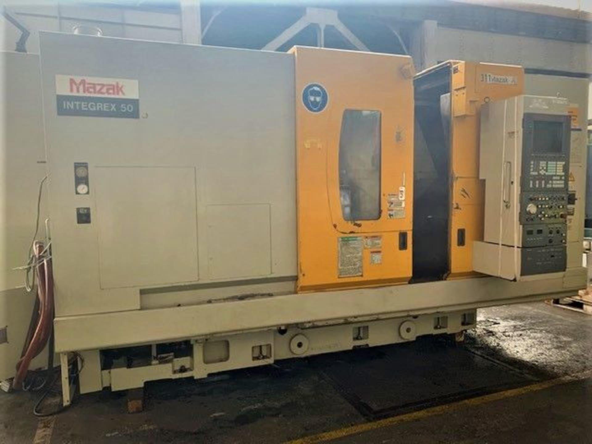 MAZAK Integrex 50 y CNC-Dreh- & Fräsmaschine