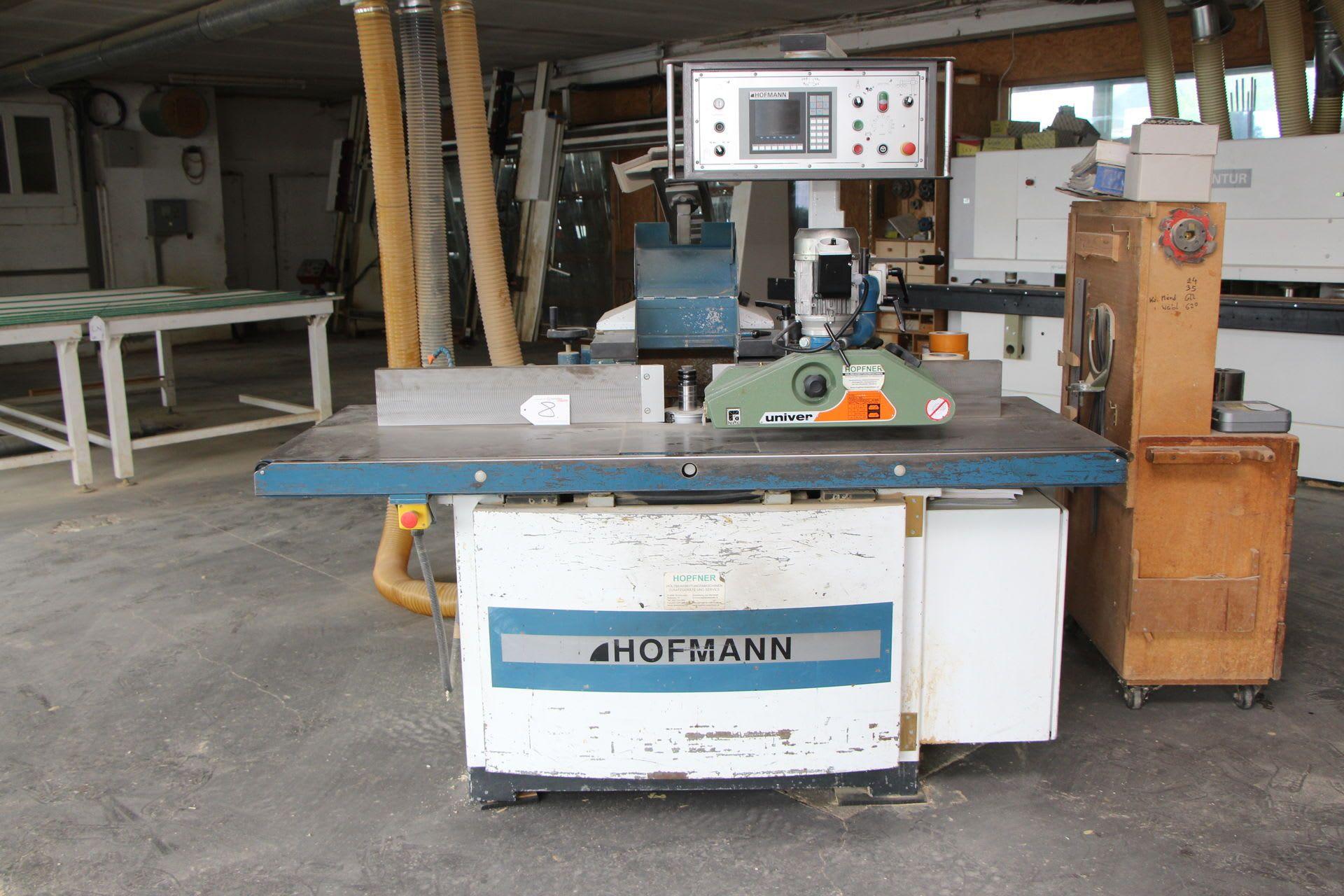 HOFMANN UFN 210 Universal-Schwenkfräsmaschine